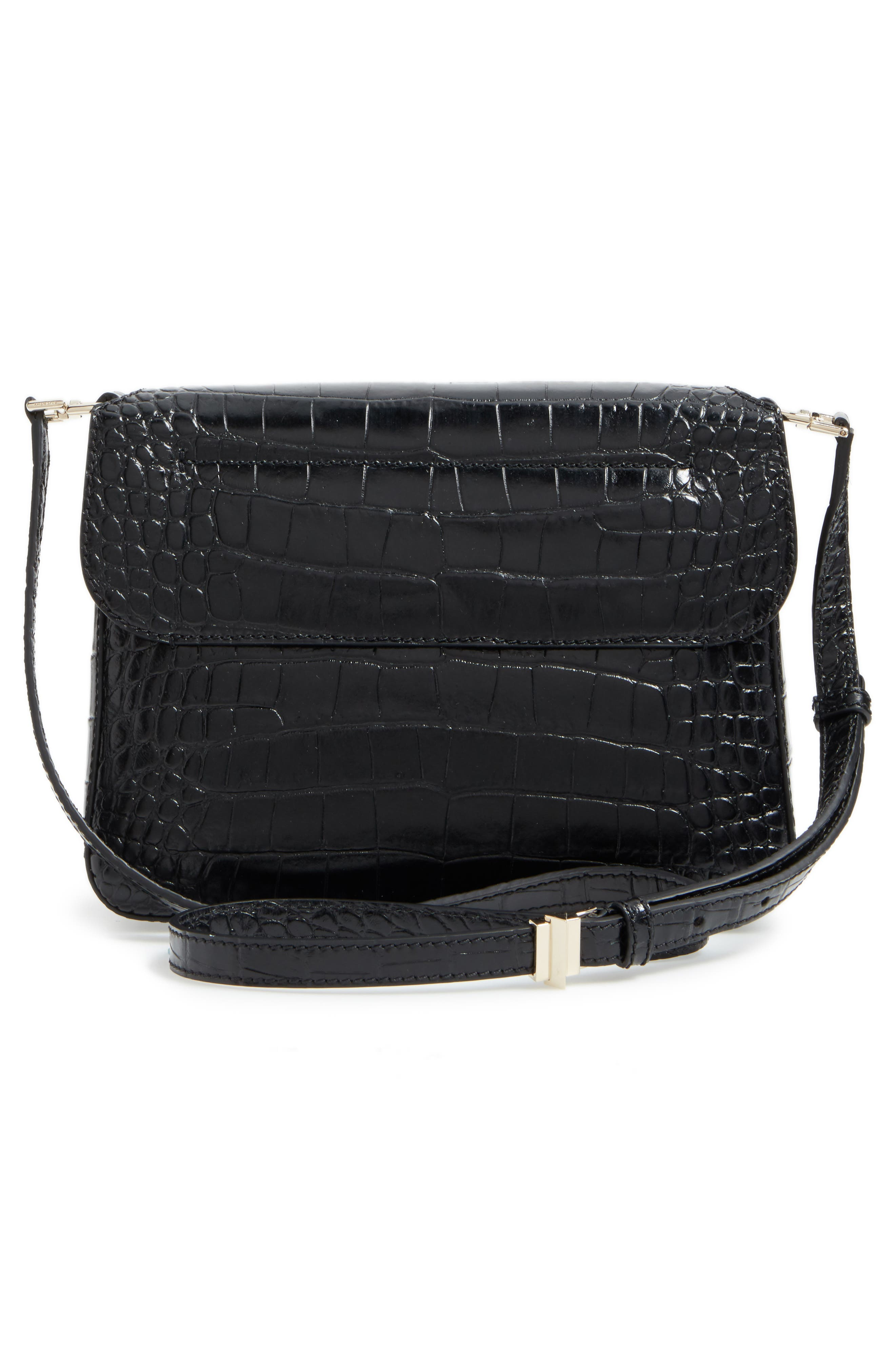 Alternate Image 2  - Givenchy Small Nobile Croc Embossed Leather Crossbody Bag