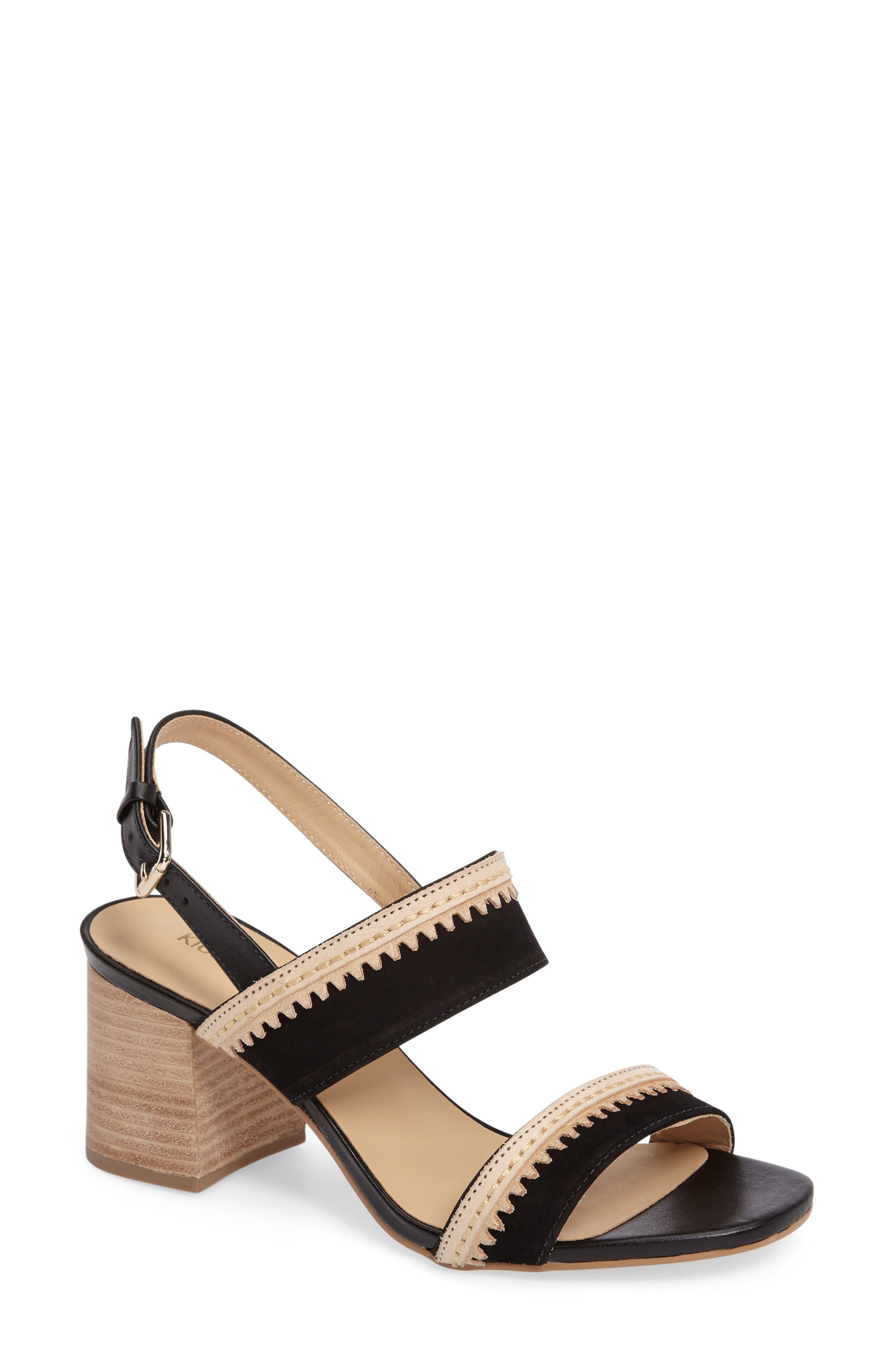 Alternate Image 1 Selected - Klub Nico Rycca Block Heel Sandal (Women)