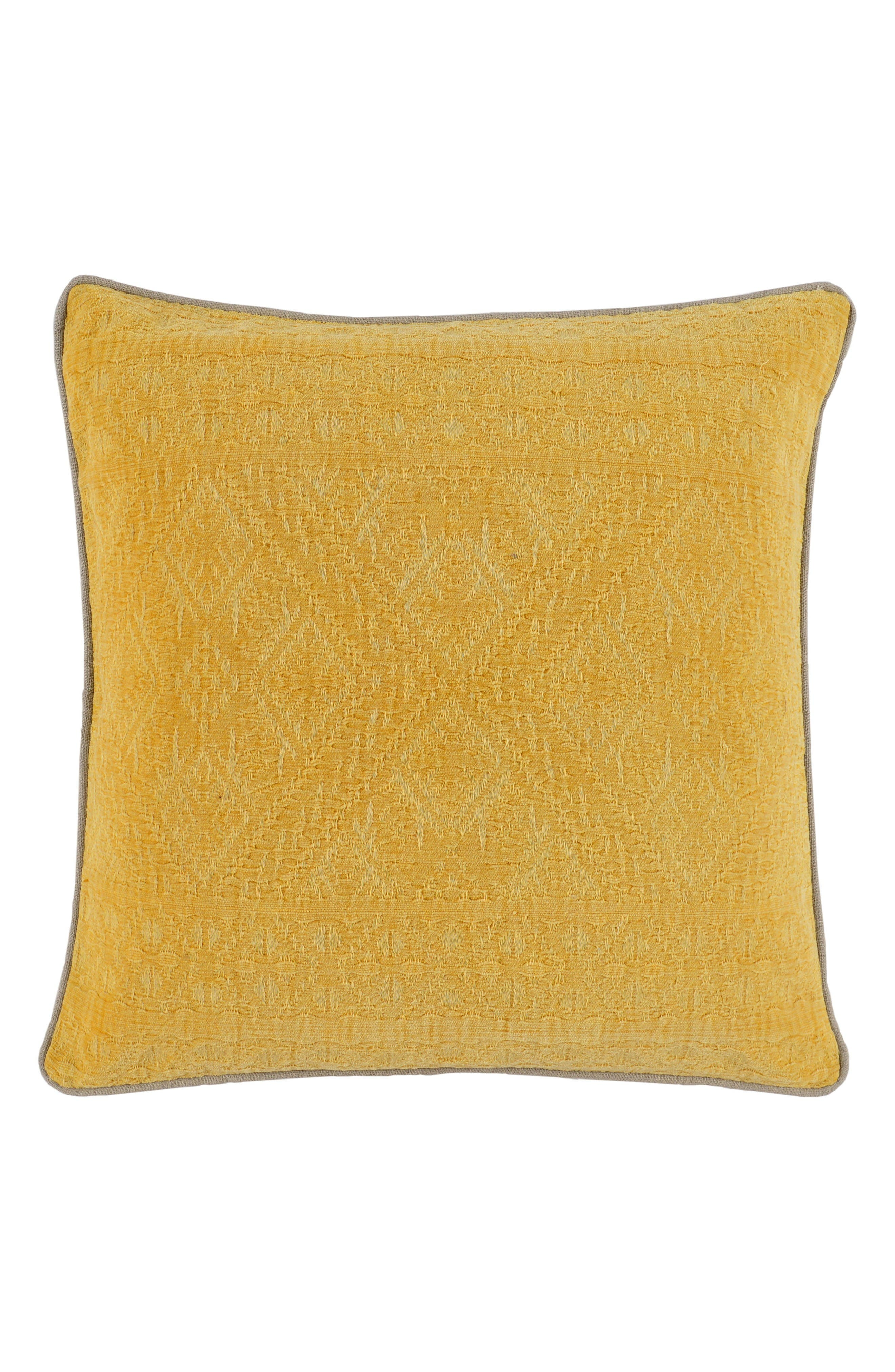 Palmer Accent Pillow,                         Main,                         color, Yellow