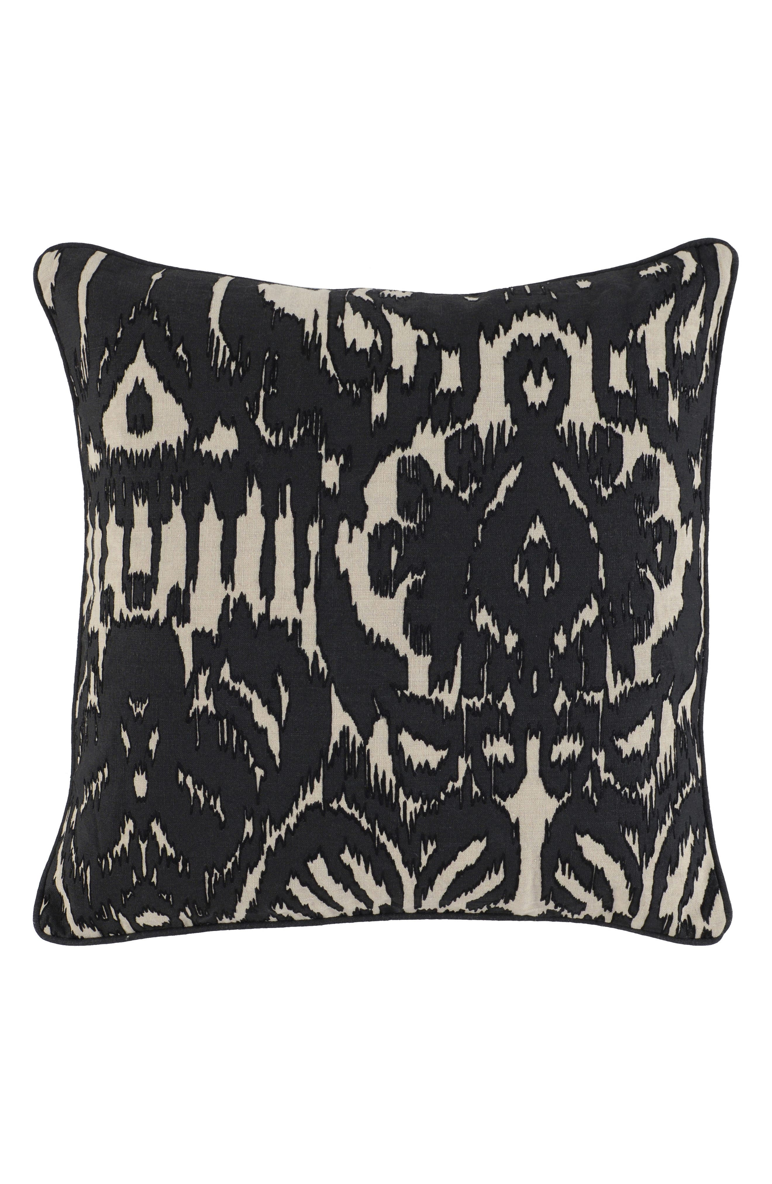 Apia Accent Pillow,                         Main,                         color, Onyx
