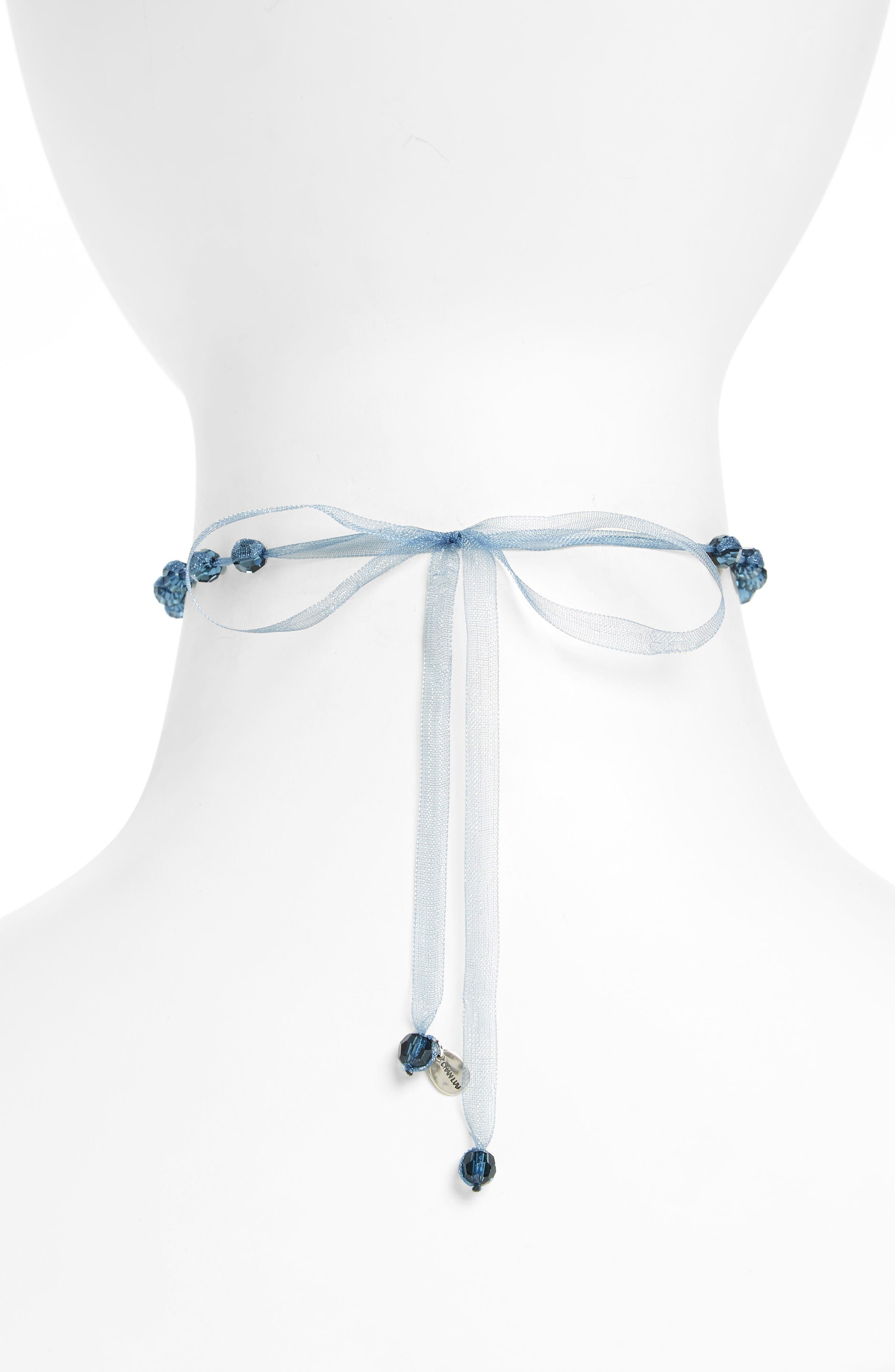 Alternate Image 2  - Chan Luu Crystal Choker Necklace