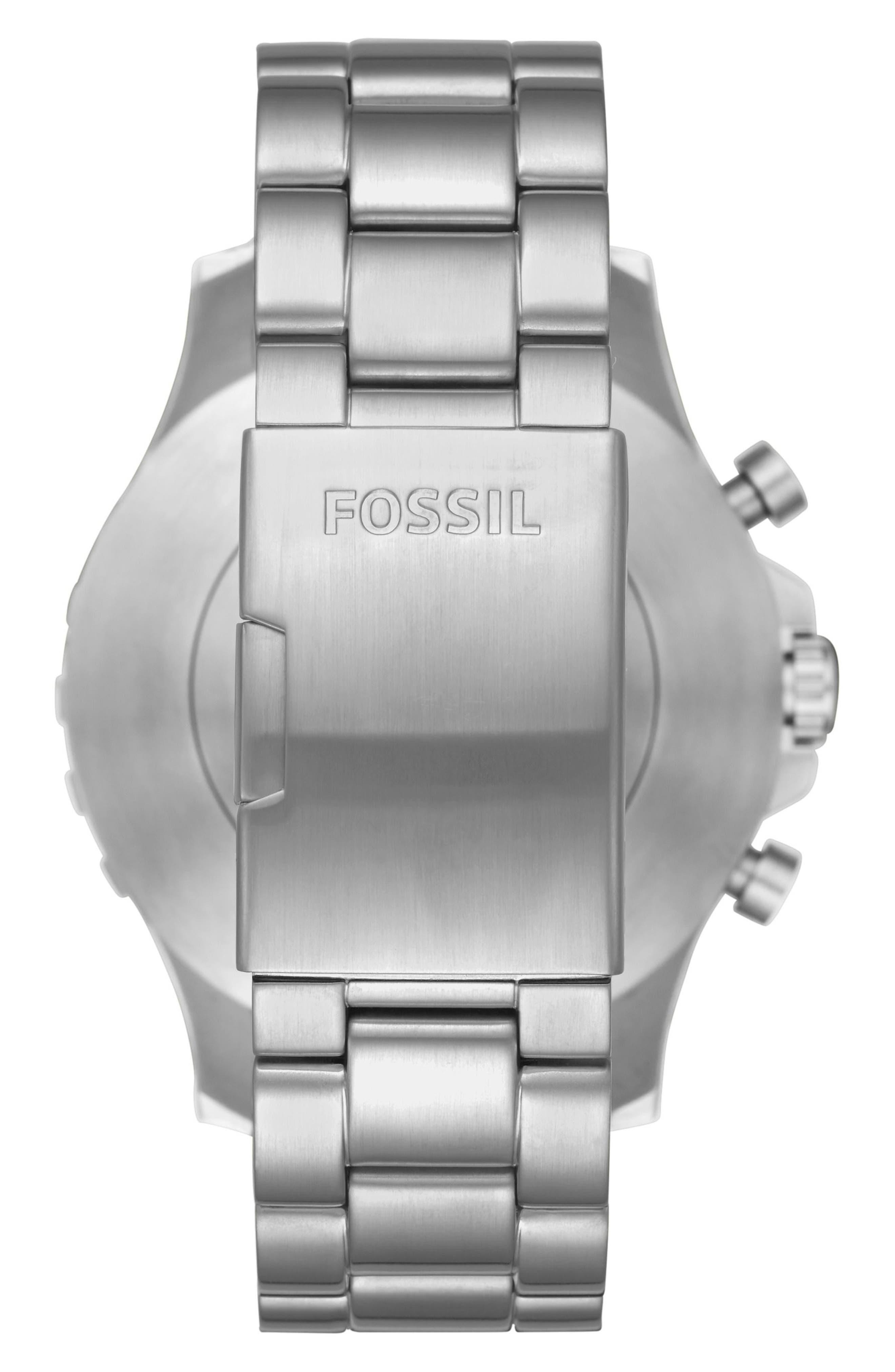 Alternate Image 2  - Fossil Q Nate Bracelet Hybrid Smart Watch, 50mm