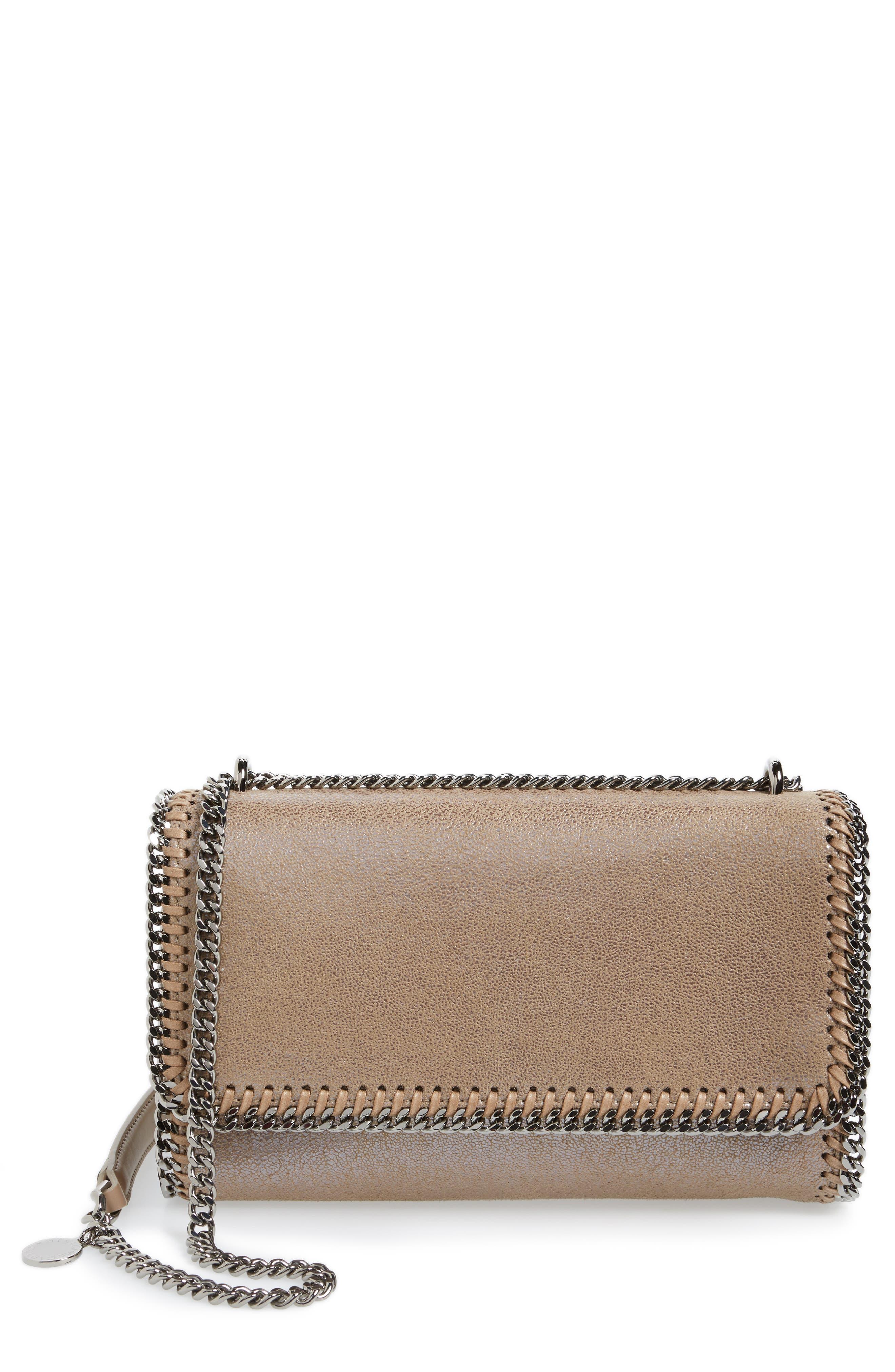 Alternate Image 1 Selected - Stella McCartney Faux Leather Flap Shoulder Bag
