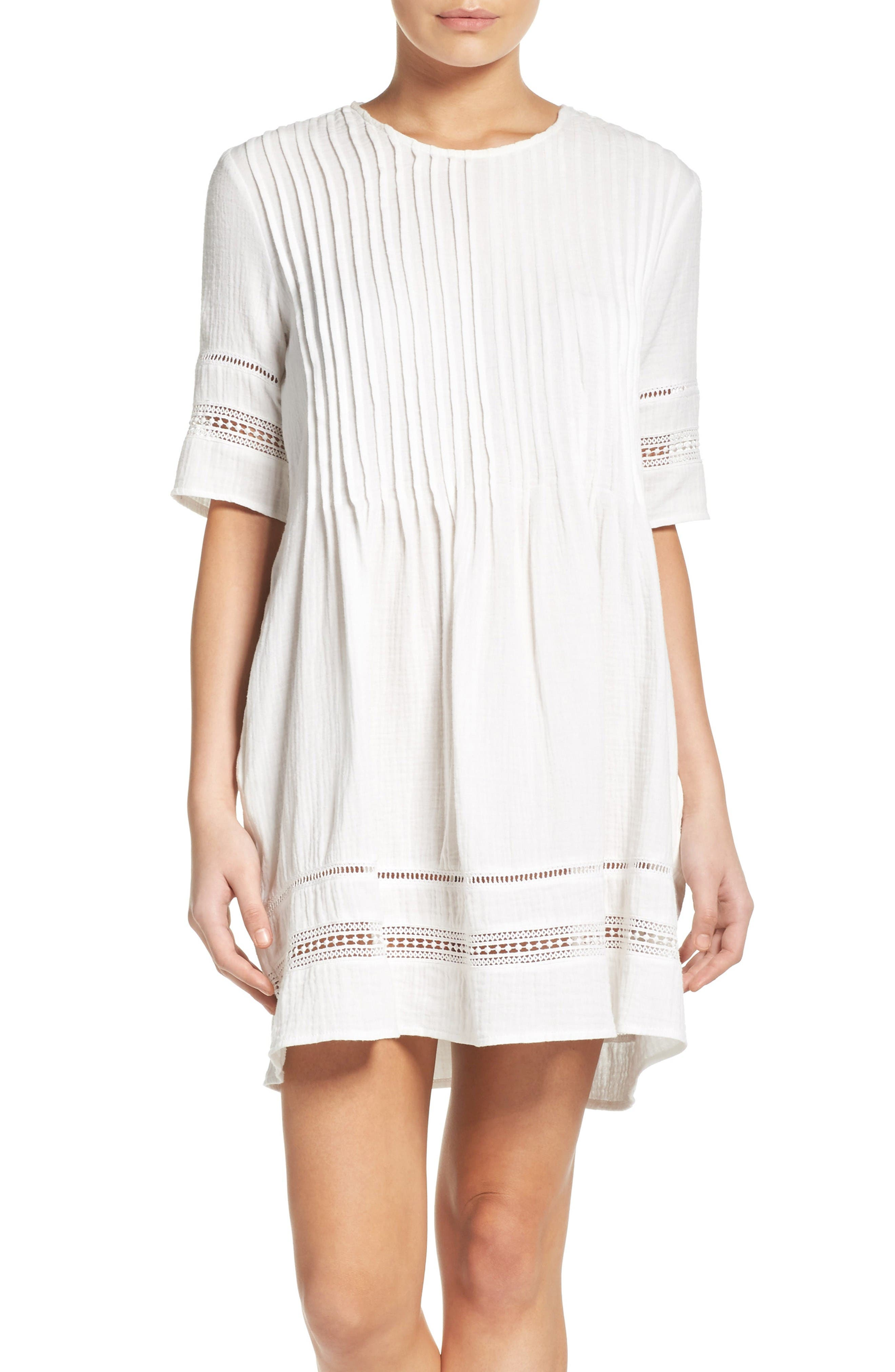 Phillips Dress,                         Main,                         color, Off White