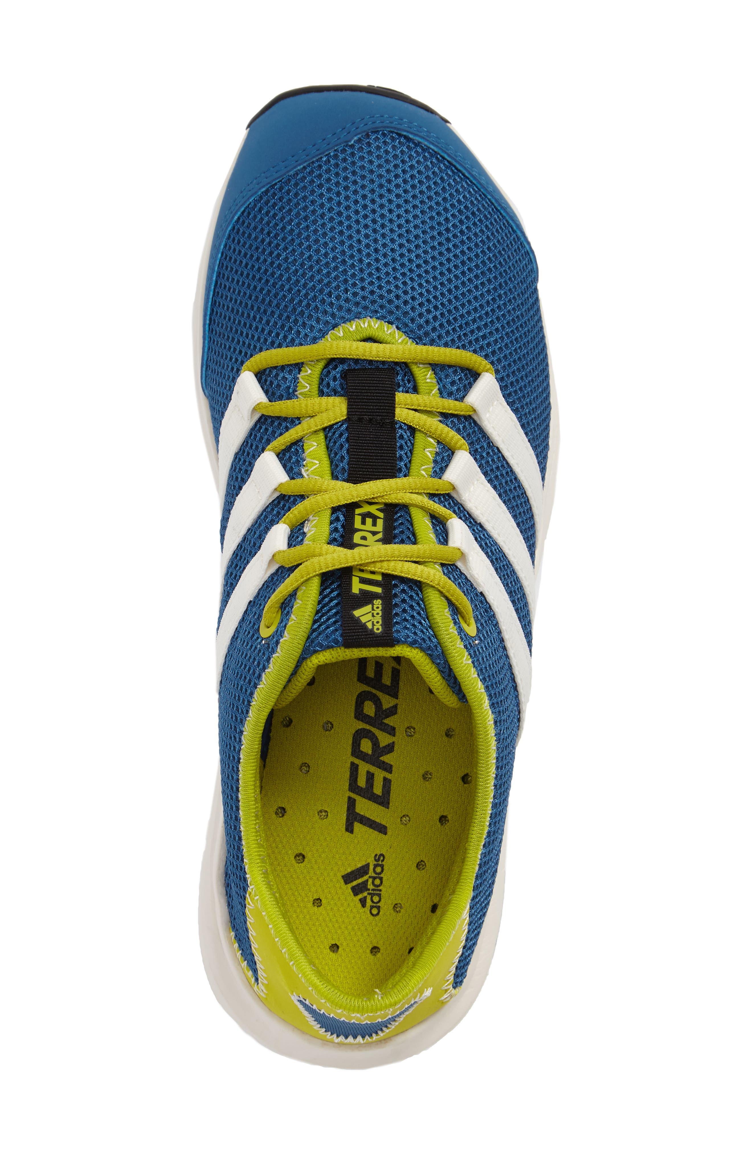 Terrex Climacool<sup>®</sup> Voyager Sneaker,                             Alternate thumbnail 3, color,                             Core Blue/ Chalk White/ Lime