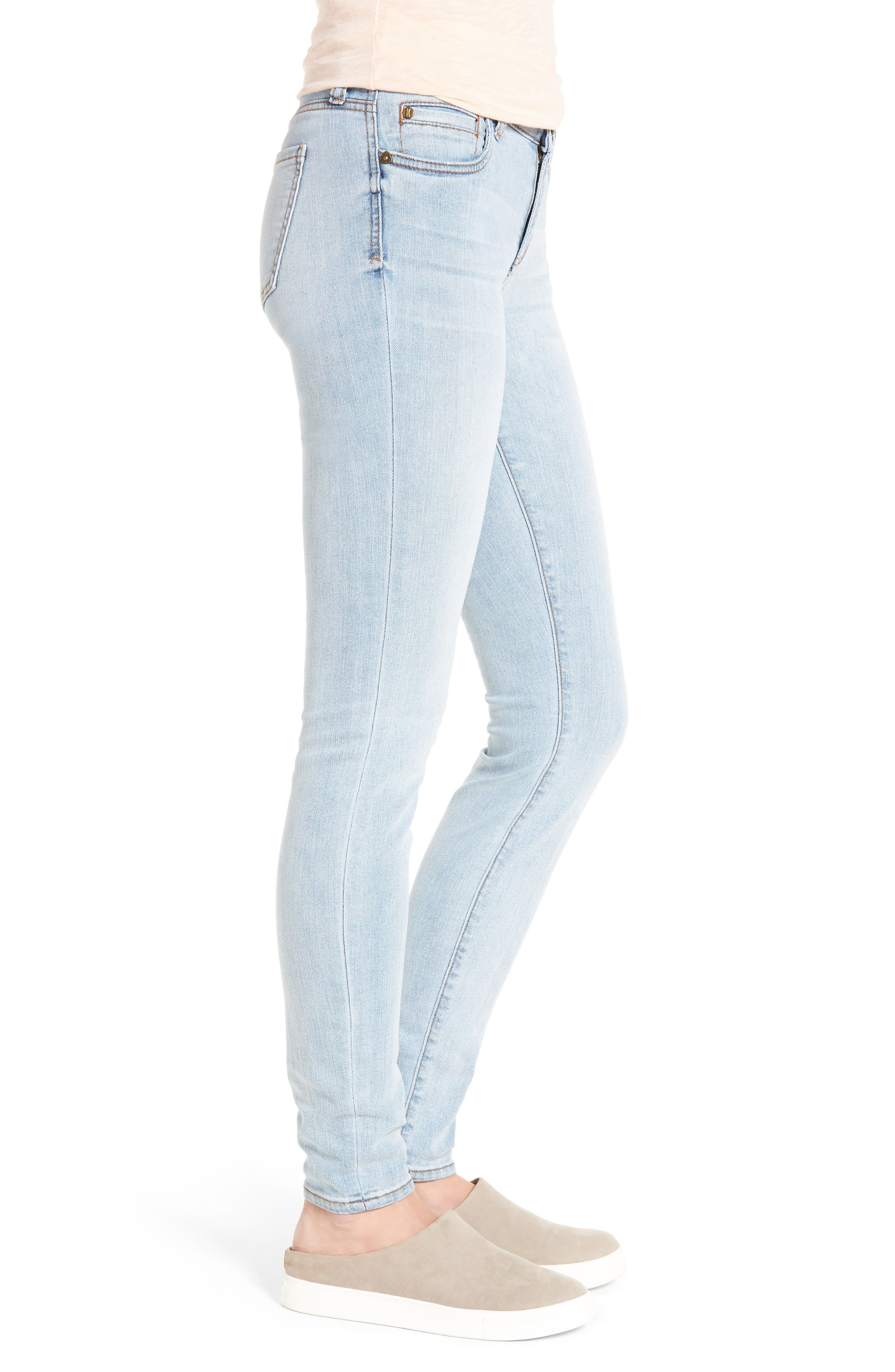 Alternate Image 3  - KUT from the Kloth Mia Toothpick Skinny Jeans (Expectation)