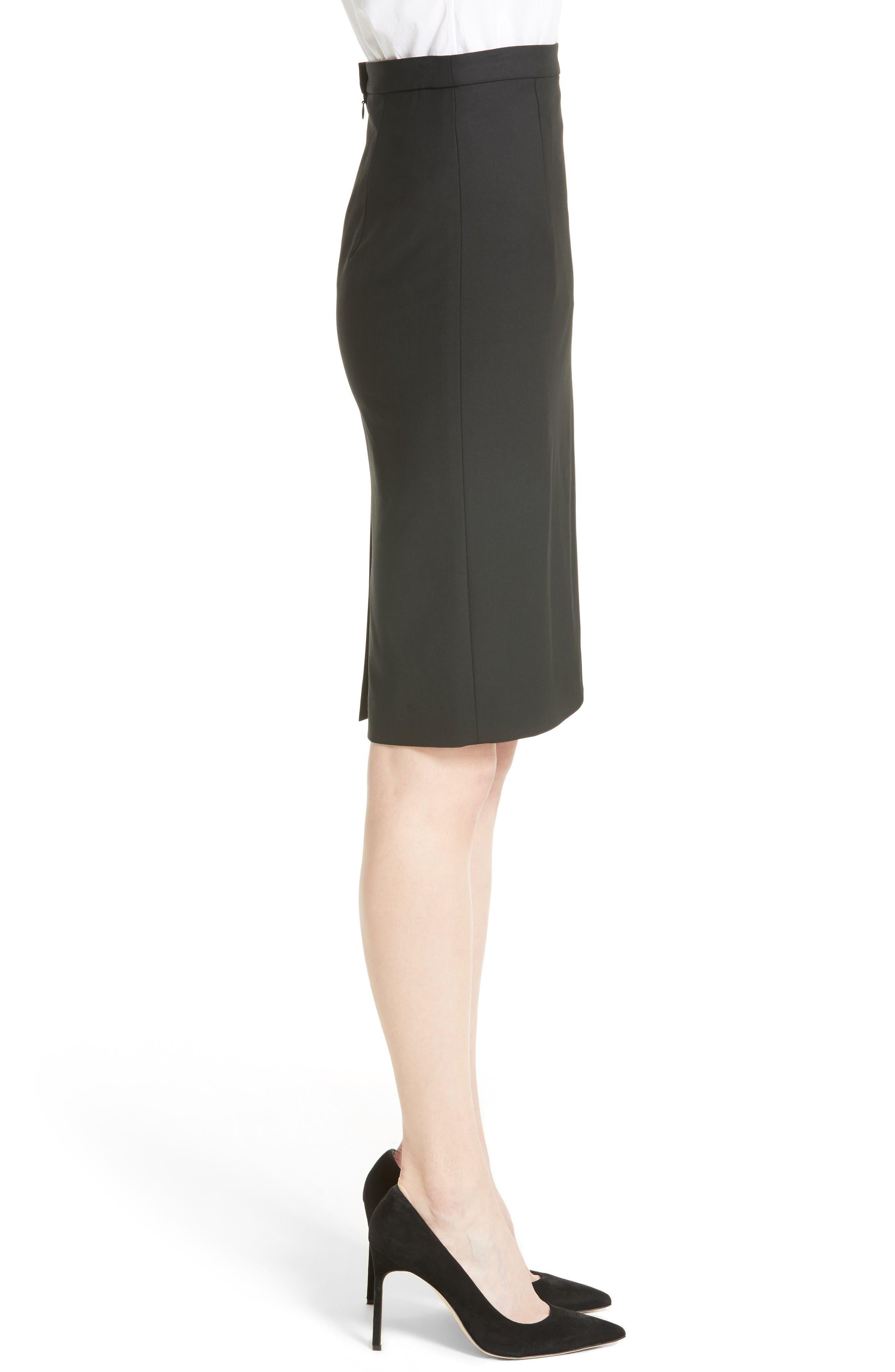 Alternate Image 4  - Theory Hemdall B Good Wool Suit Skirt (Nordstrom Exclusive)
