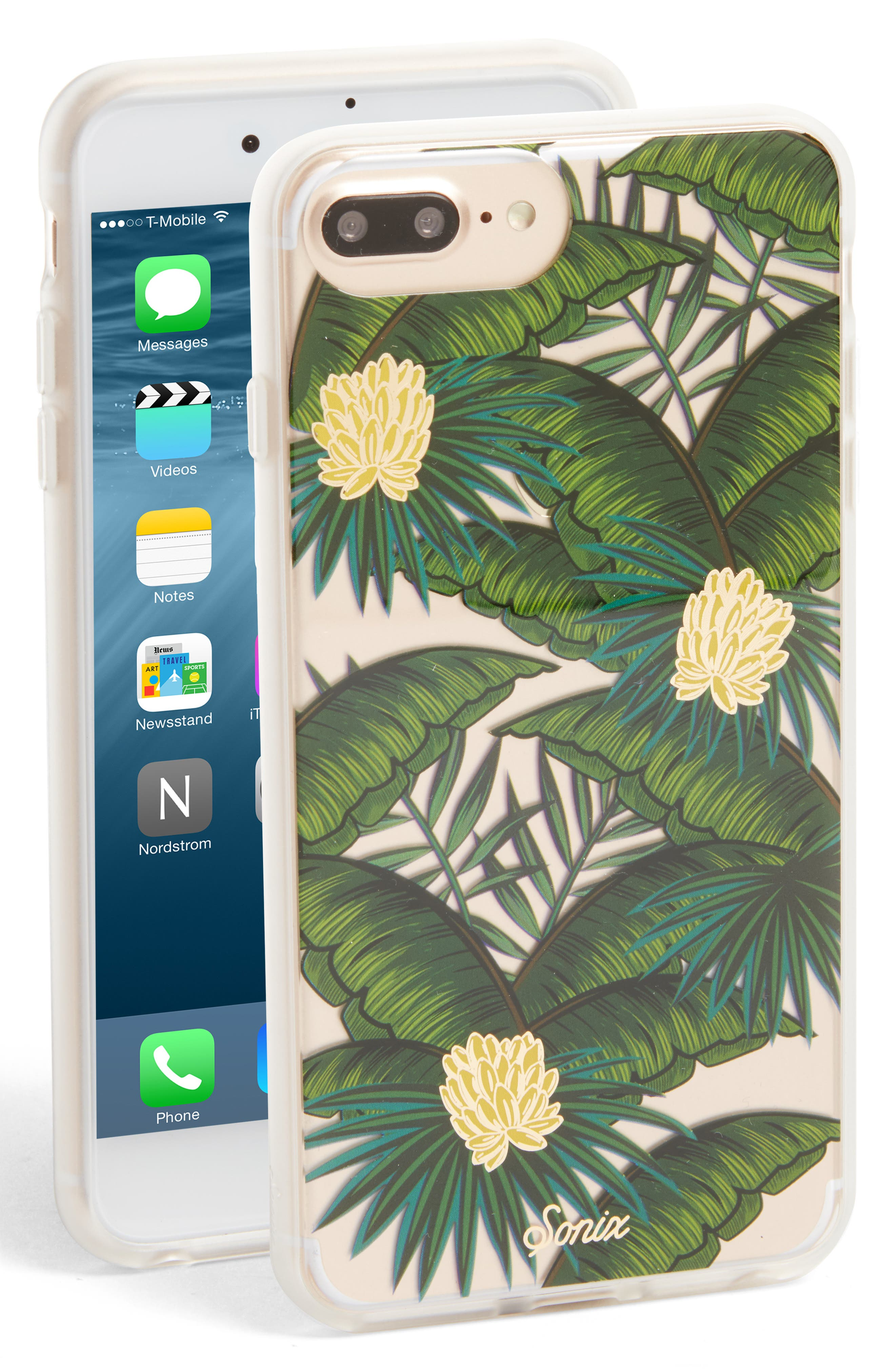 Coco Banana iPhone 6/6s/7/8 & 6/6s/7/8 Plus Case,                         Main,                         color, Green 2