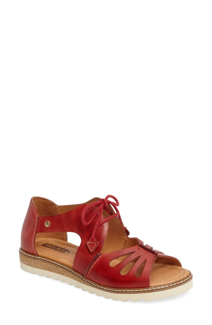 Pikolinos Alcudia Lace Up Sandal Women Nordstrom