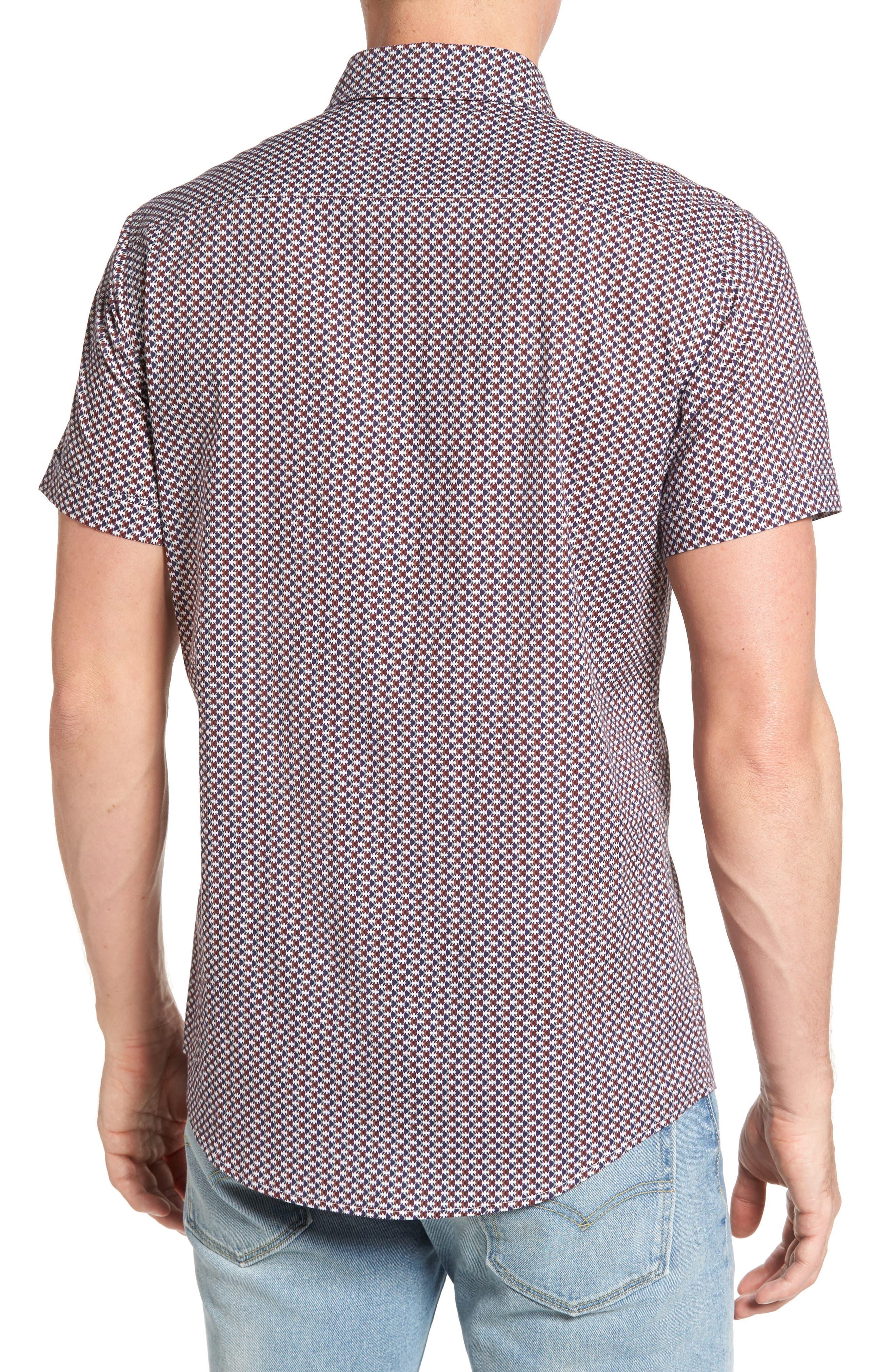 Alternate Image 2  - Rodd & Gunn Vaughan Print Sport Shirt