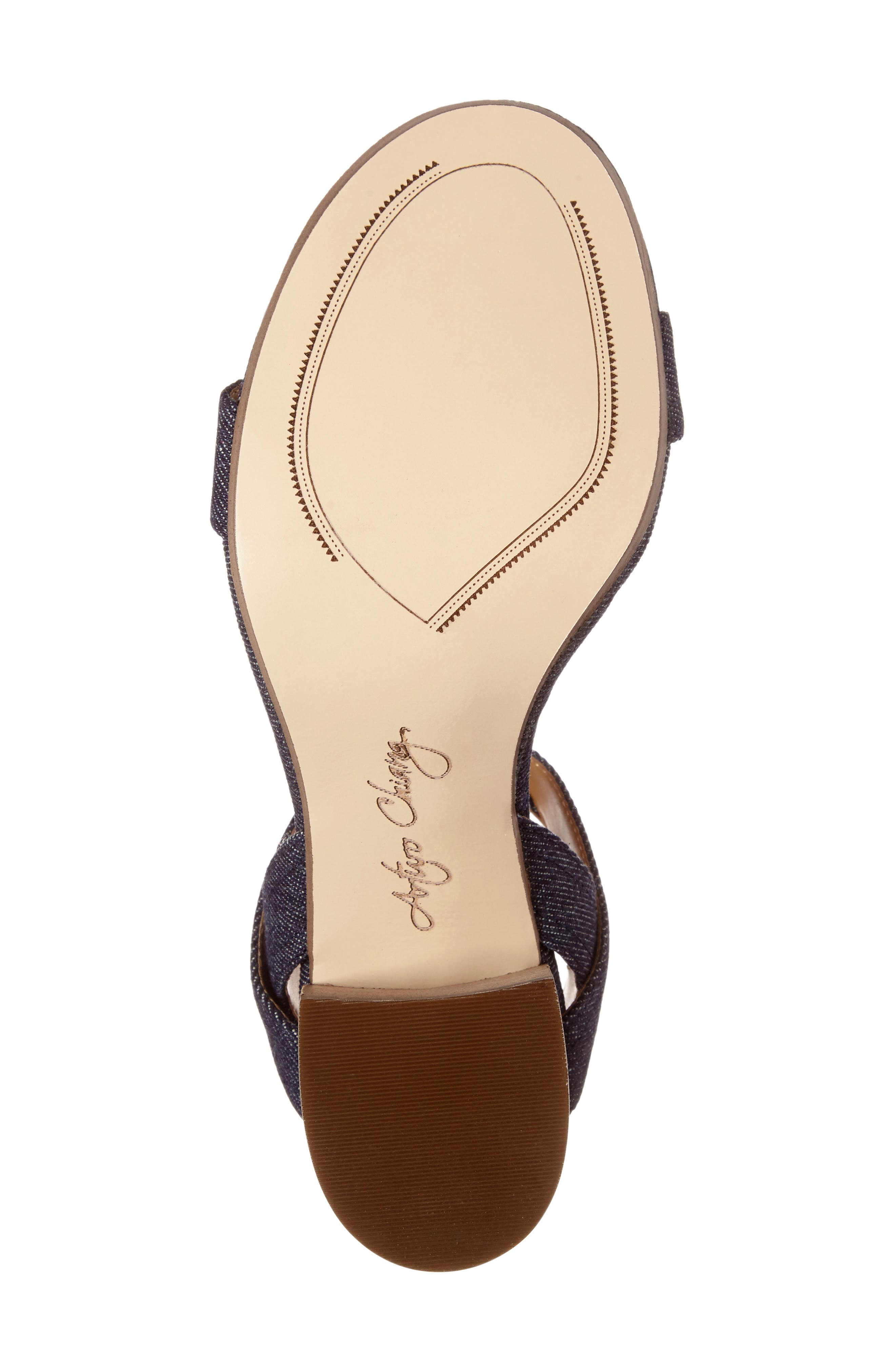 Alternate Image 4  - Arturo Chiang Hammil Block Heel Sandal (Women)