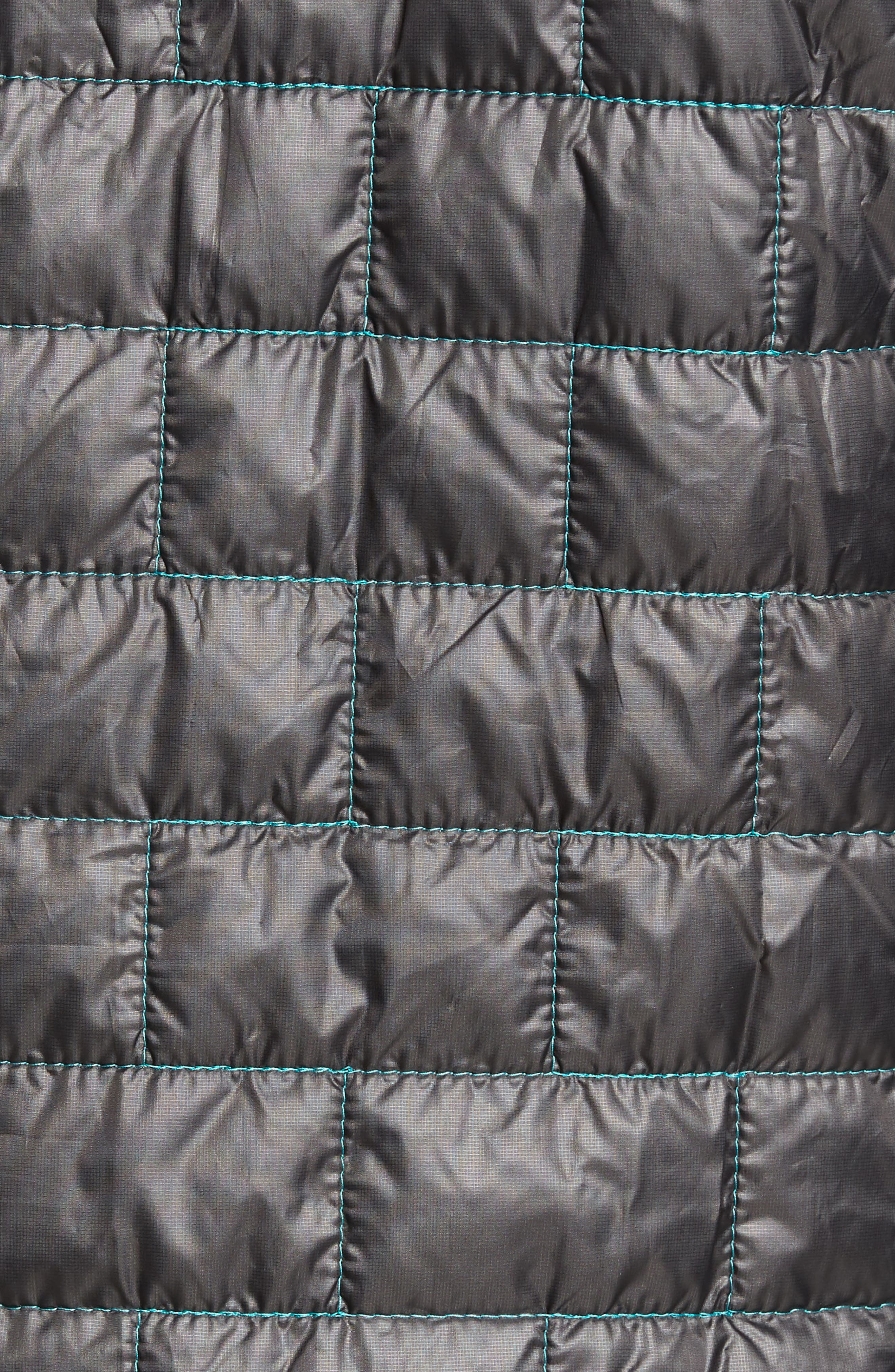 Nano Puff<sup>®</sup> Bivy Regular Fit Water Resistant Jacket,                             Alternate thumbnail 5, color,                             Black