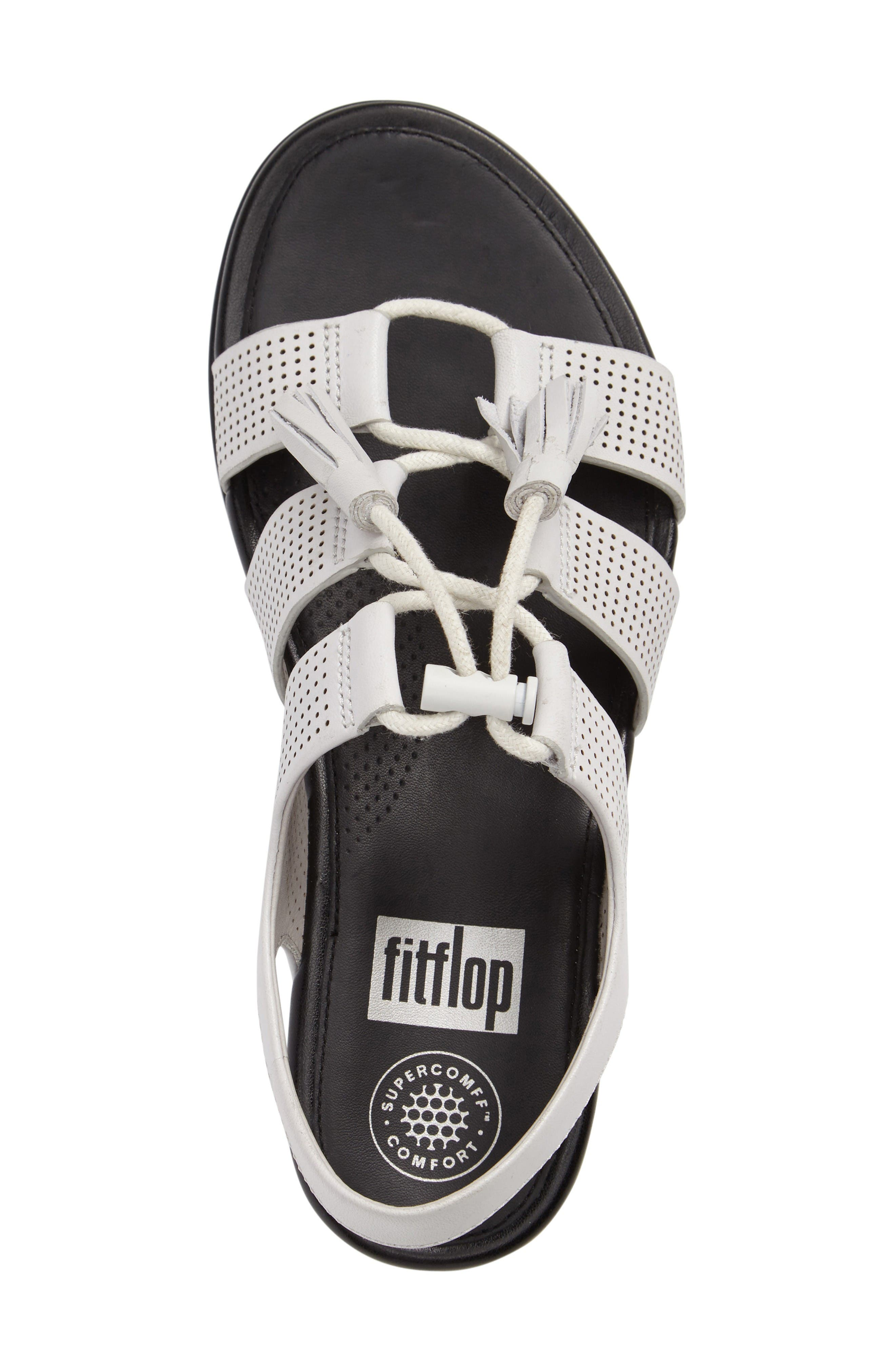 Alternate Image 3  - FitFlop Gladdie Lace-Up Sandal (Women)