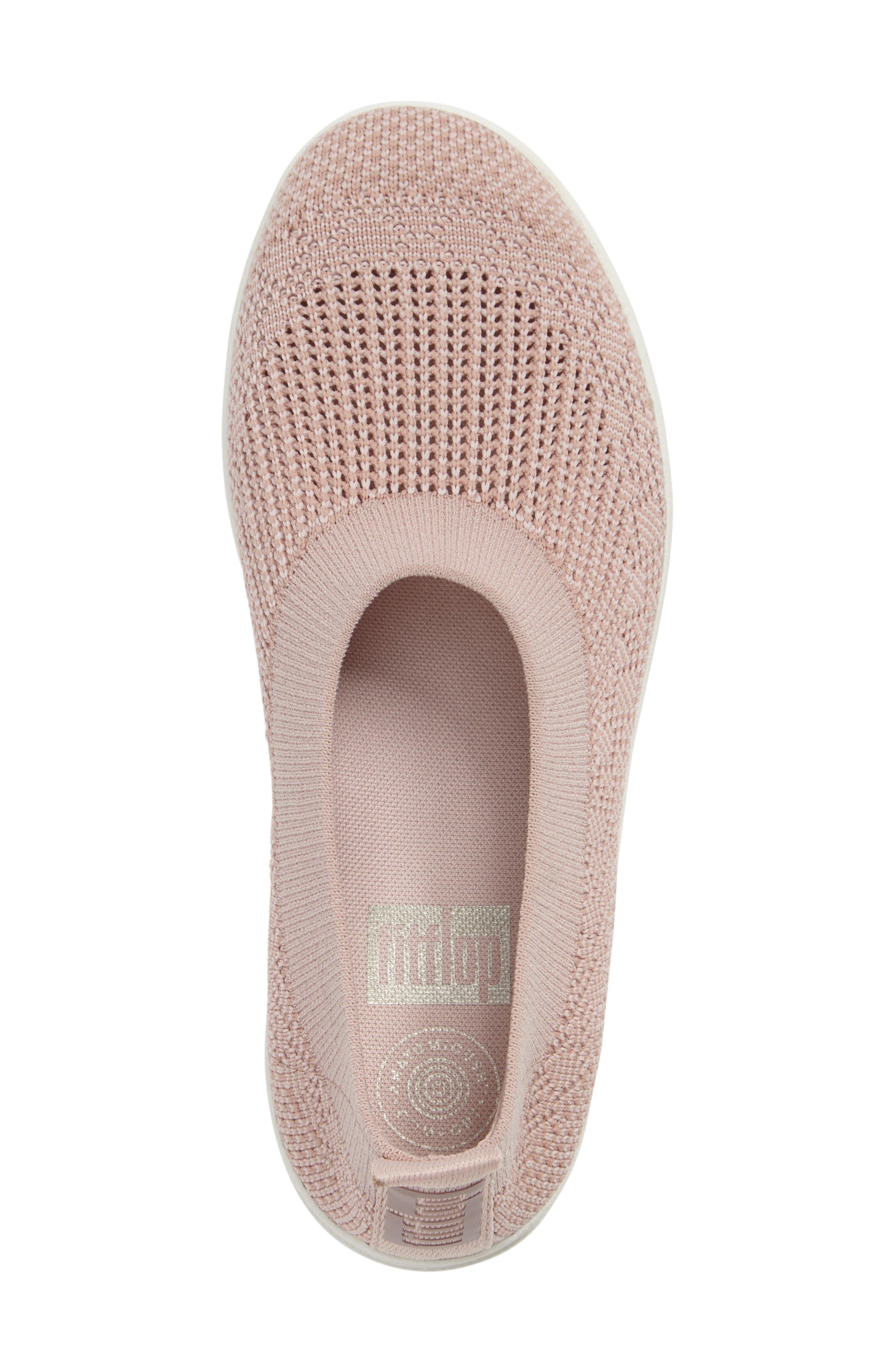 Alternate Image 3  - FitFlop Uberknit Slip-On Sneaker (Women)