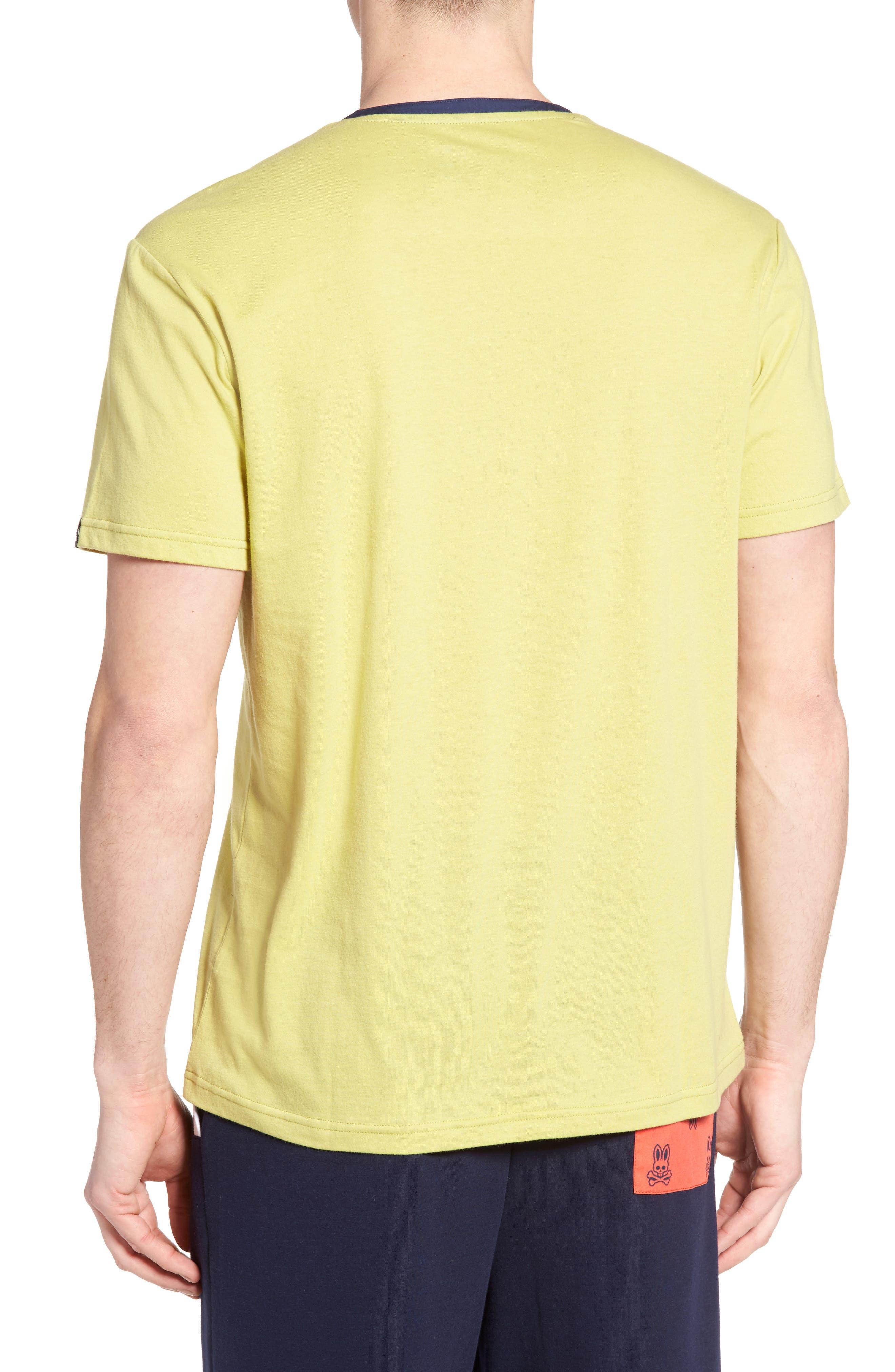 Pocket Henley Lounge T-Shirt,                             Alternate thumbnail 2, color,                             Tea Leaves