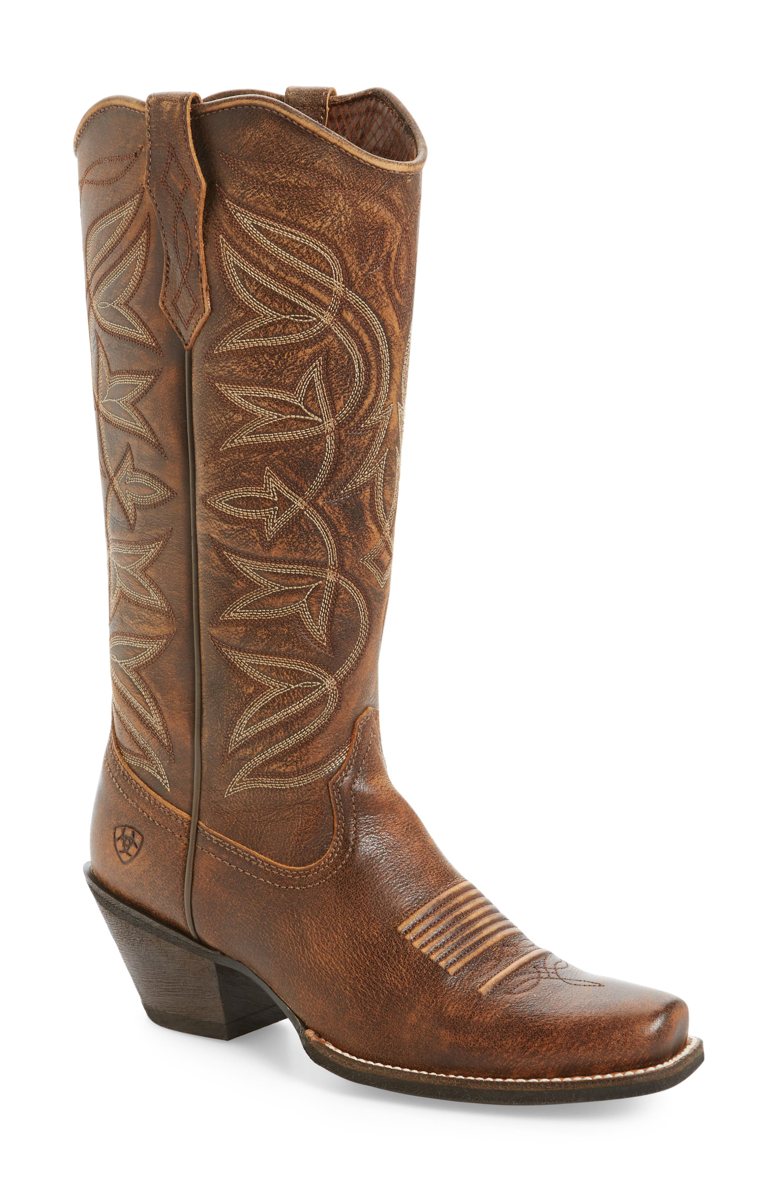 Sheridan Western Boot,                         Main,                         color, Vintage Bomber Leather