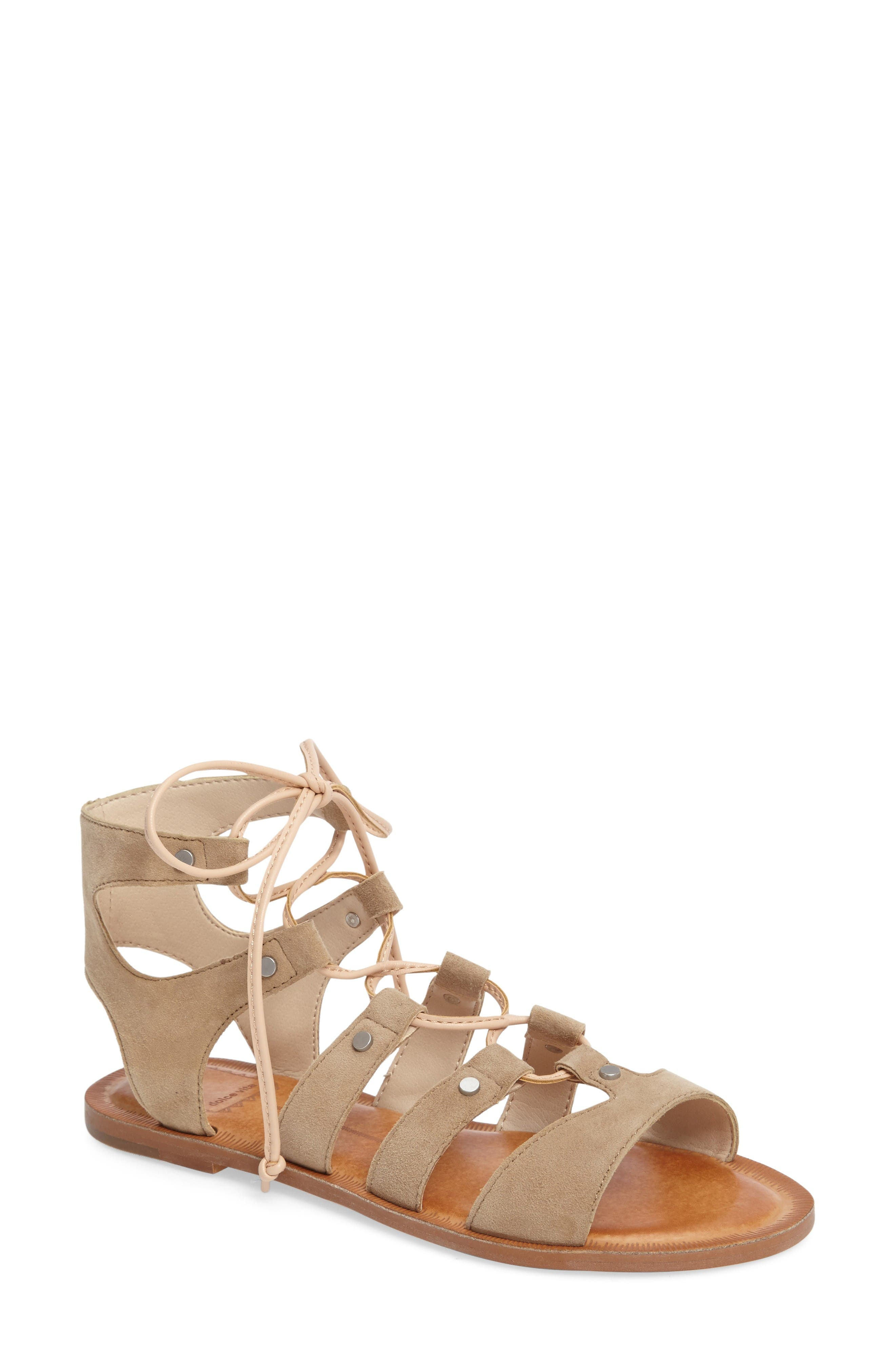 Alternate Image 1 Selected - Dolce Vita 'Jasmyn' Ghillie Sandal (Women)