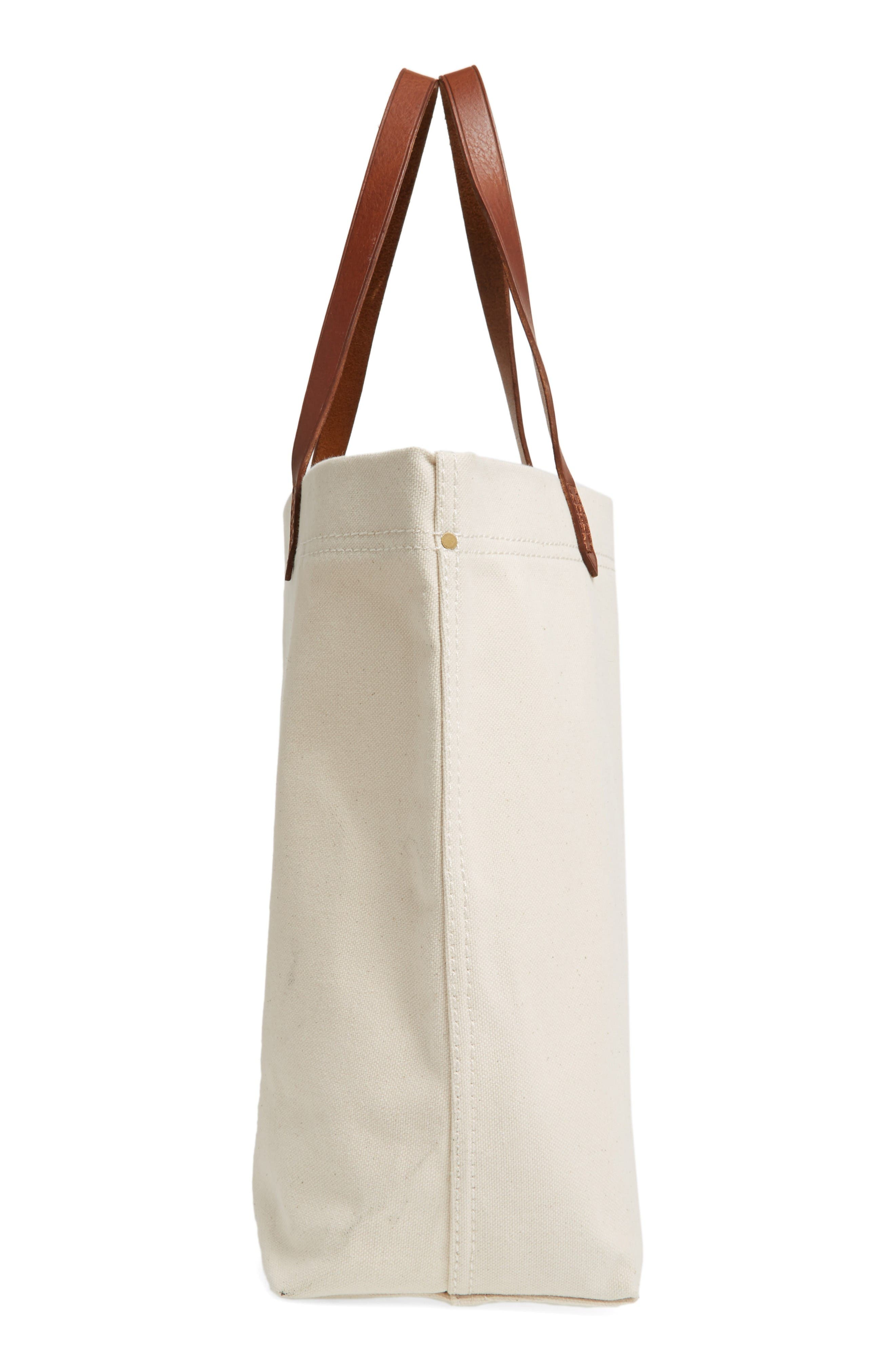 Alternate Image 5  - Madewell Canvas Transport Tote