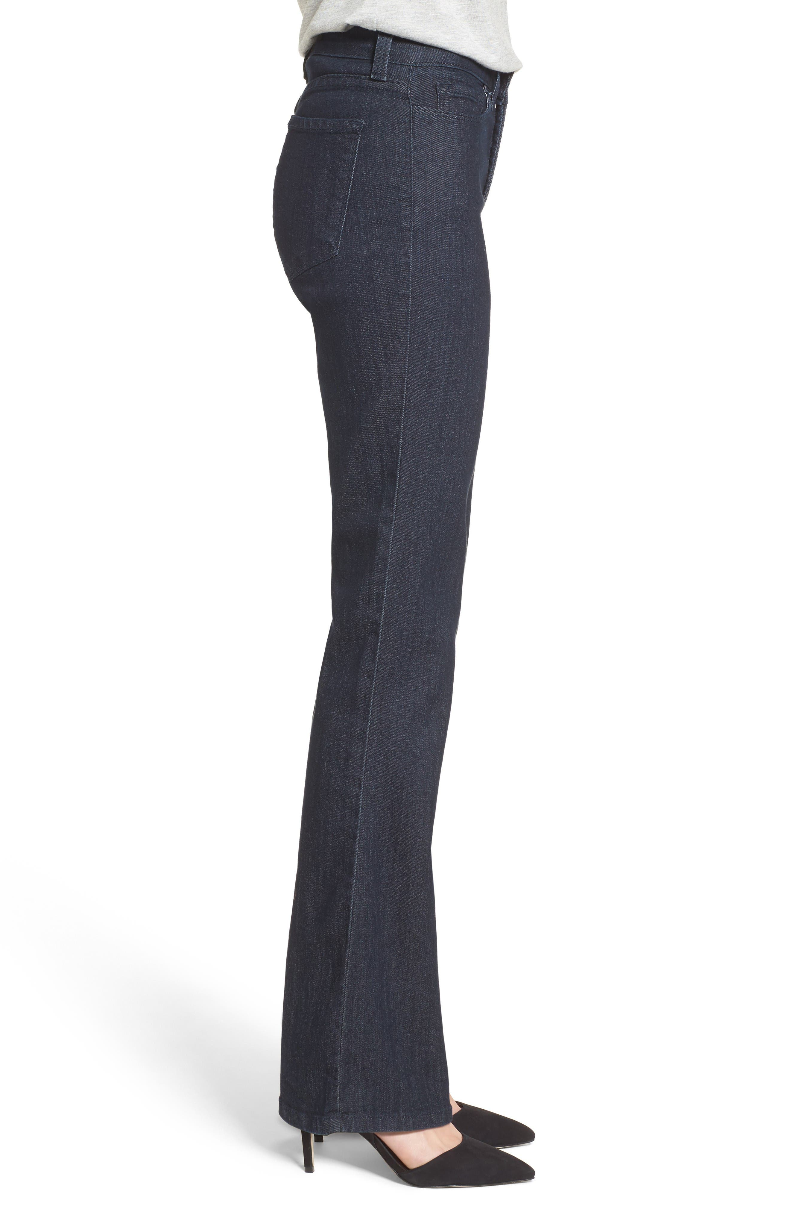 Barbara Stretch Bootcut Jeans,                             Alternate thumbnail 4, color,                             Denim
