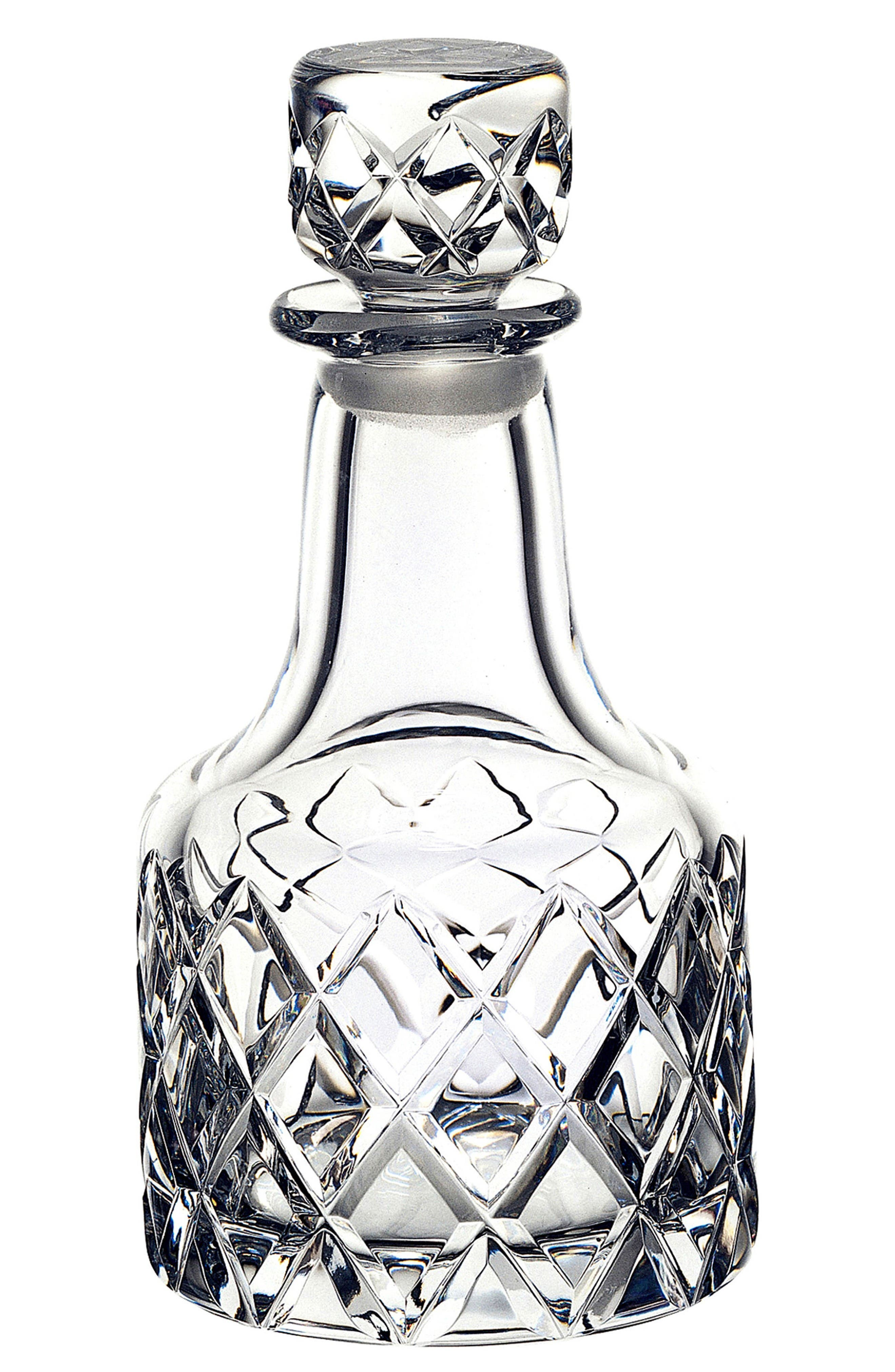 Sofiero Crystal Decanter,                             Main thumbnail 1, color,                             Clear