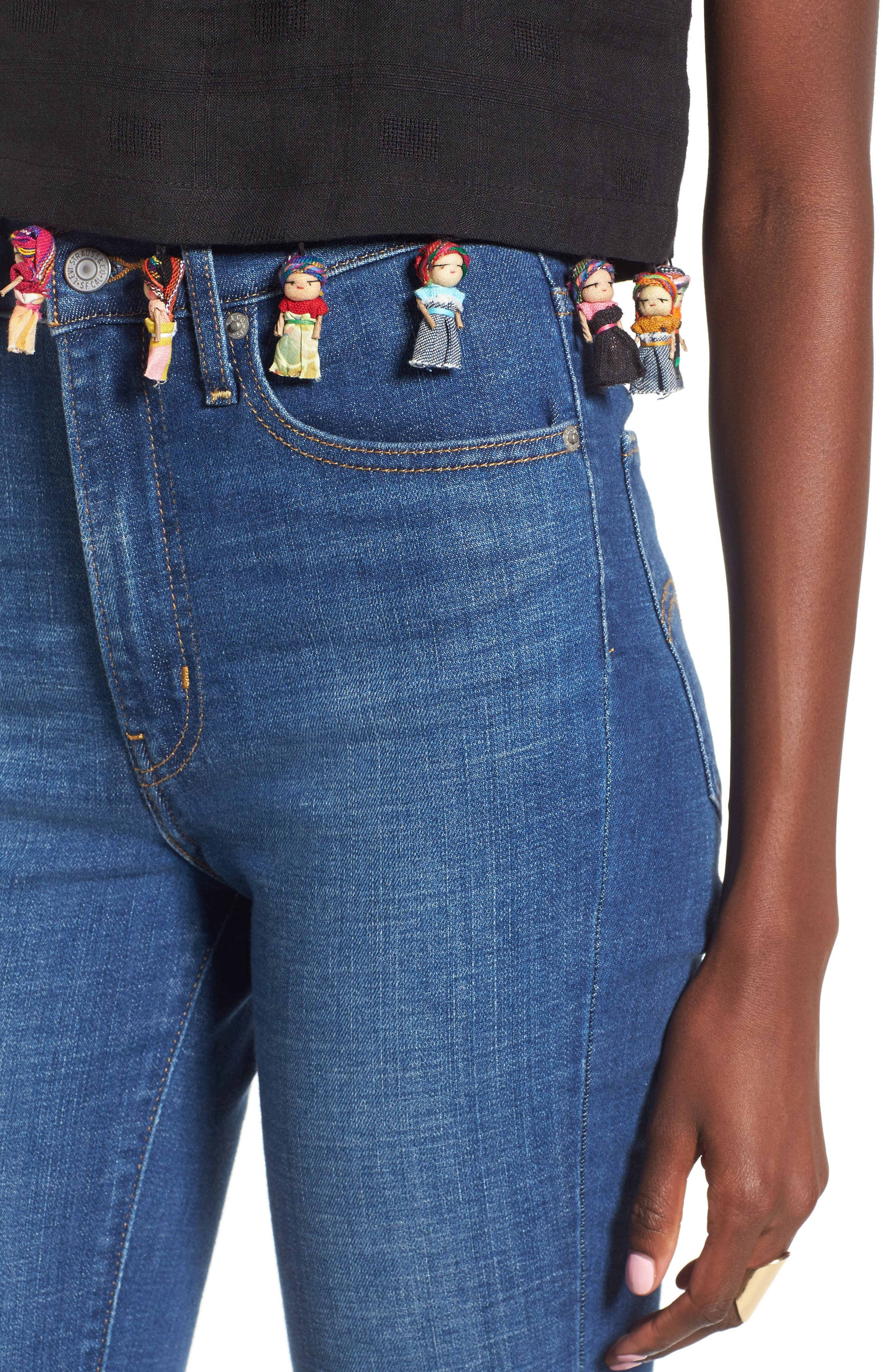 Alternate Image 4  - Rachel Antonoff Kishi Worry Doll Crop Top