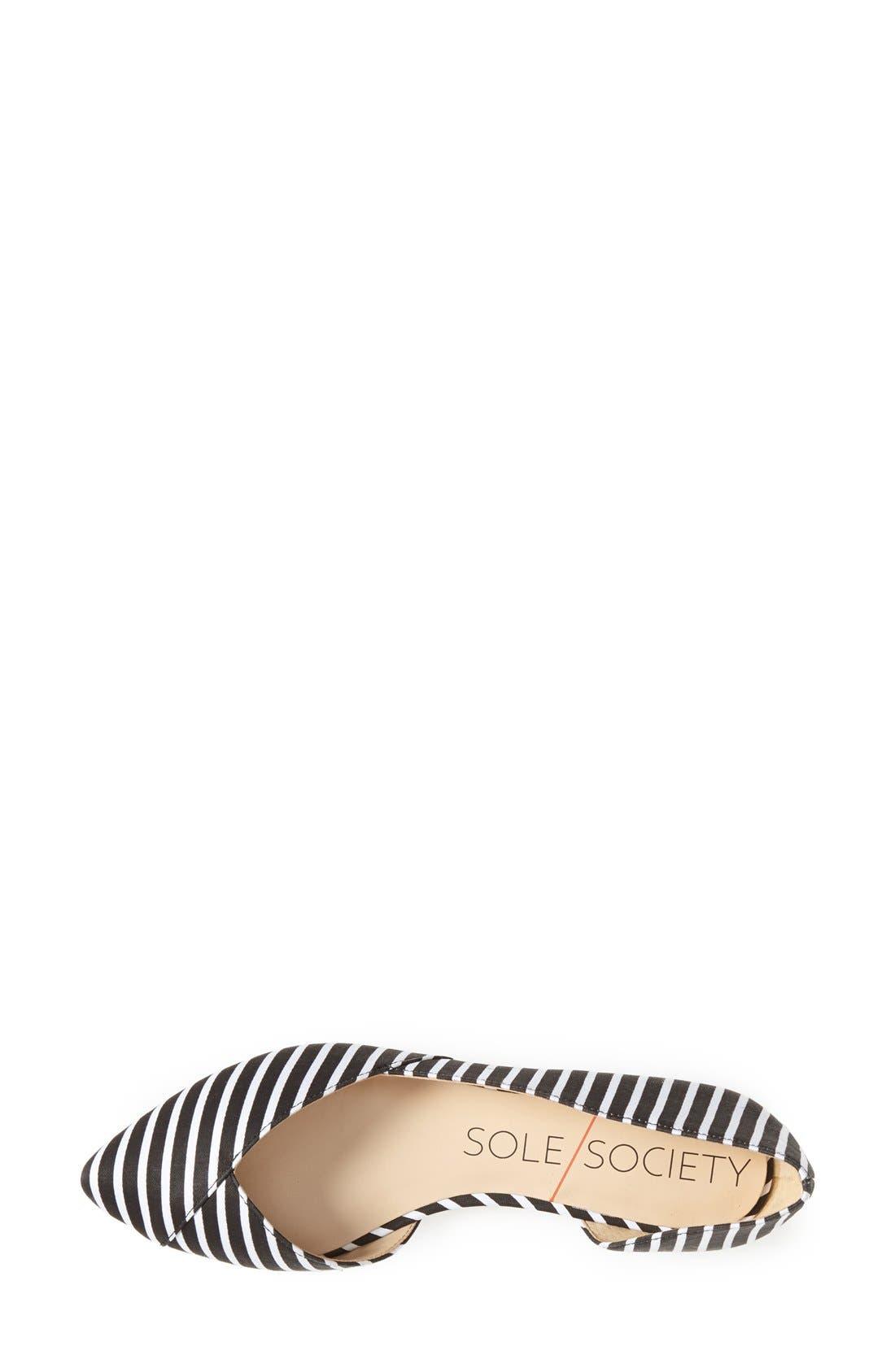 Alternate Image 3  - Sole Society 'Danielle' Pointy Toe Flat (Women)