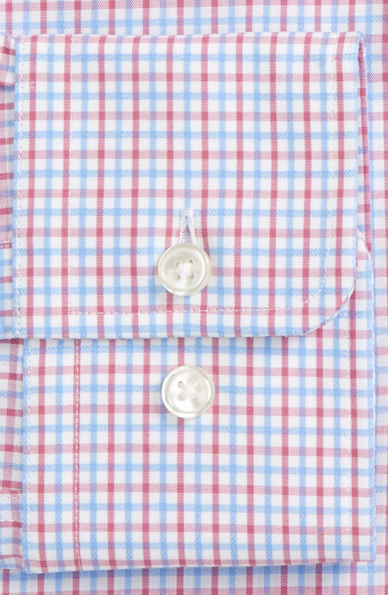 Alternate Image 2  - BOSS Marley Sharp Fit Check Dress Shirt