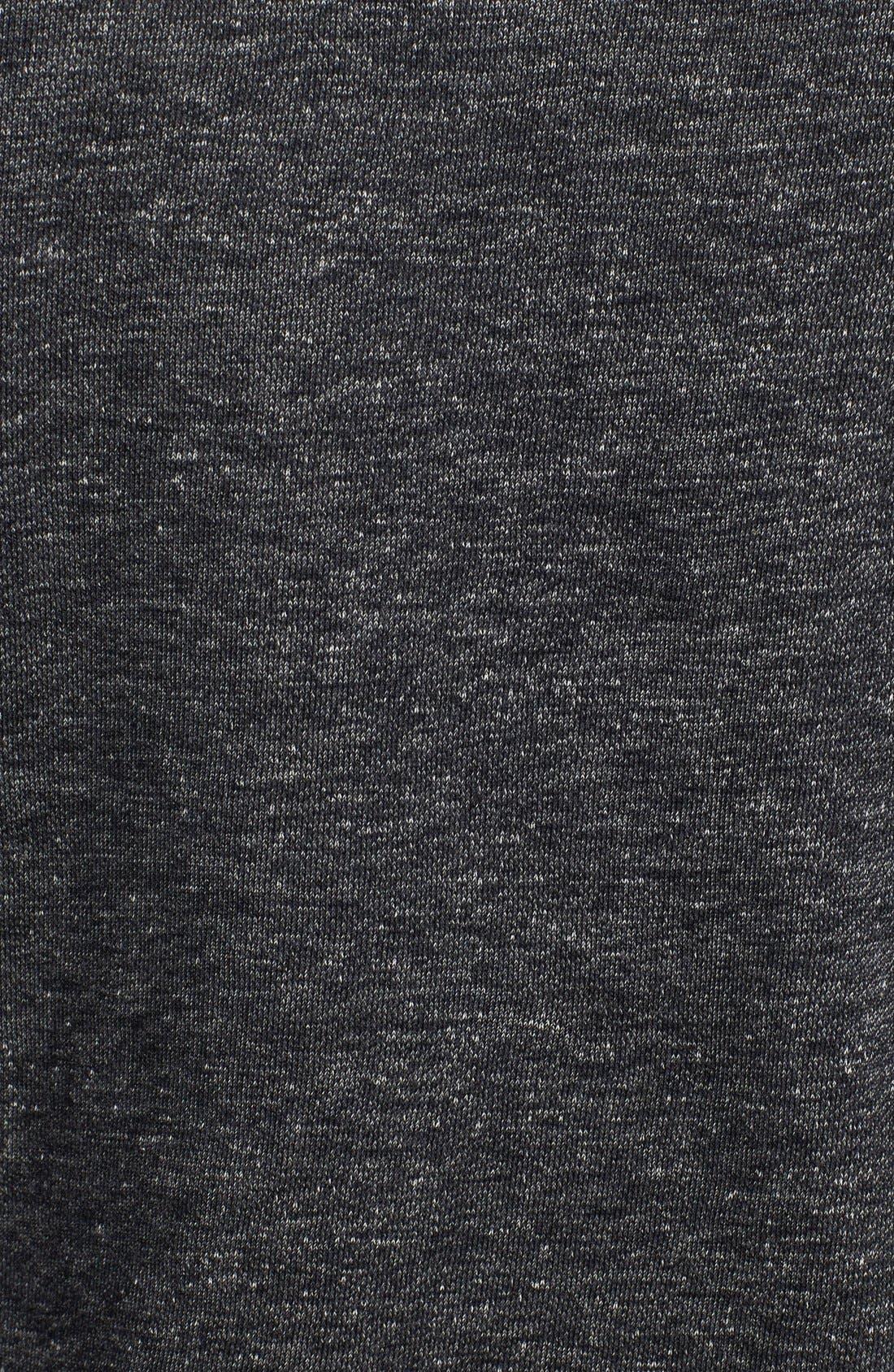 Terry Sweatshirt,                             Alternate thumbnail 3, color,                             Black Heather