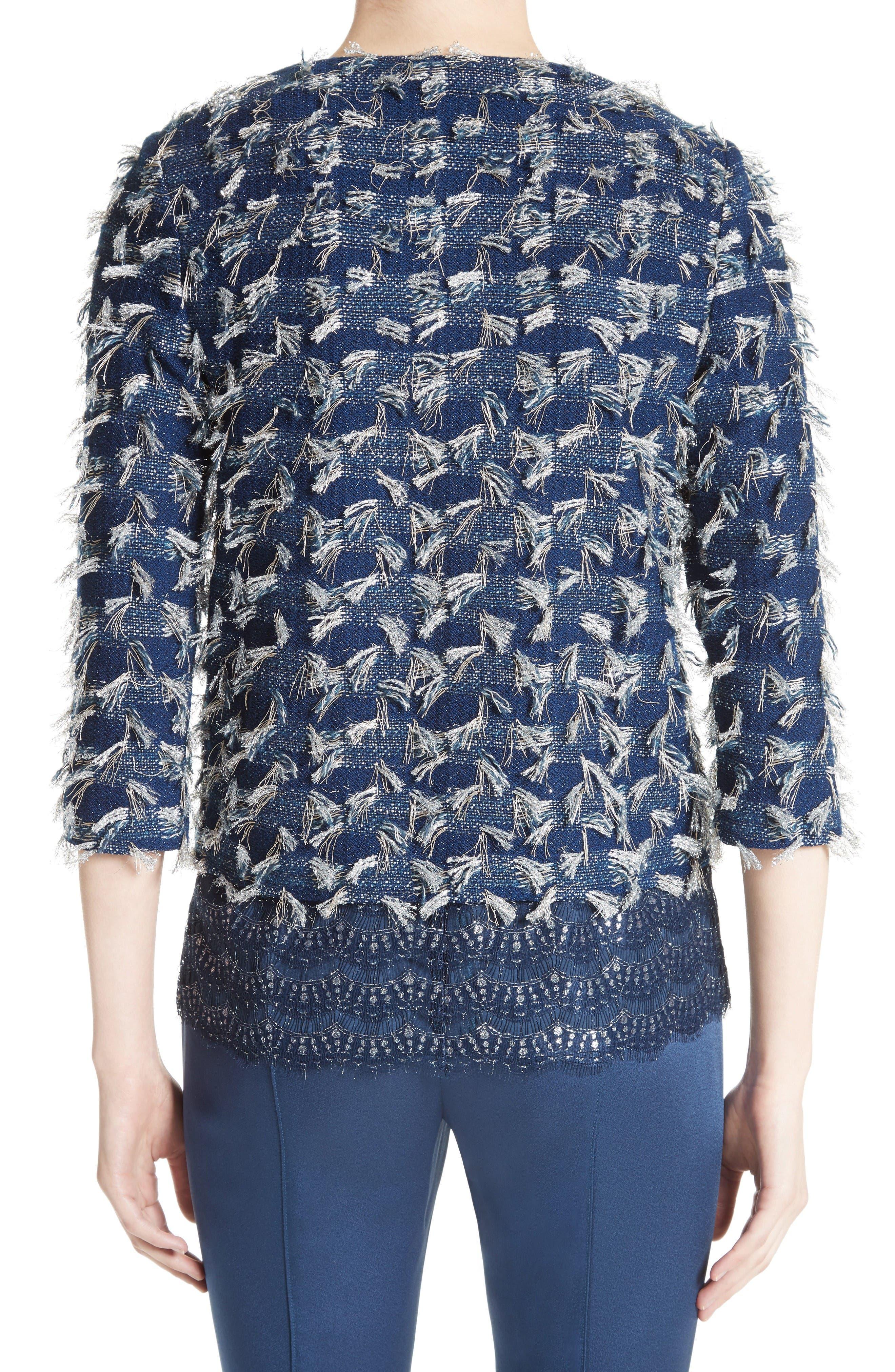 Alternate Image 2  - St. John Collection Lackshan Fil Coupé Tweed Jacket