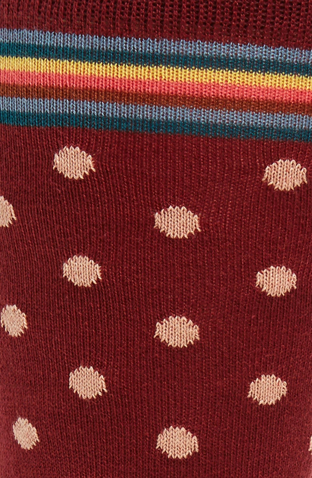 Alternate Image 2  - Paul Smith Signature Polka Dot Socks