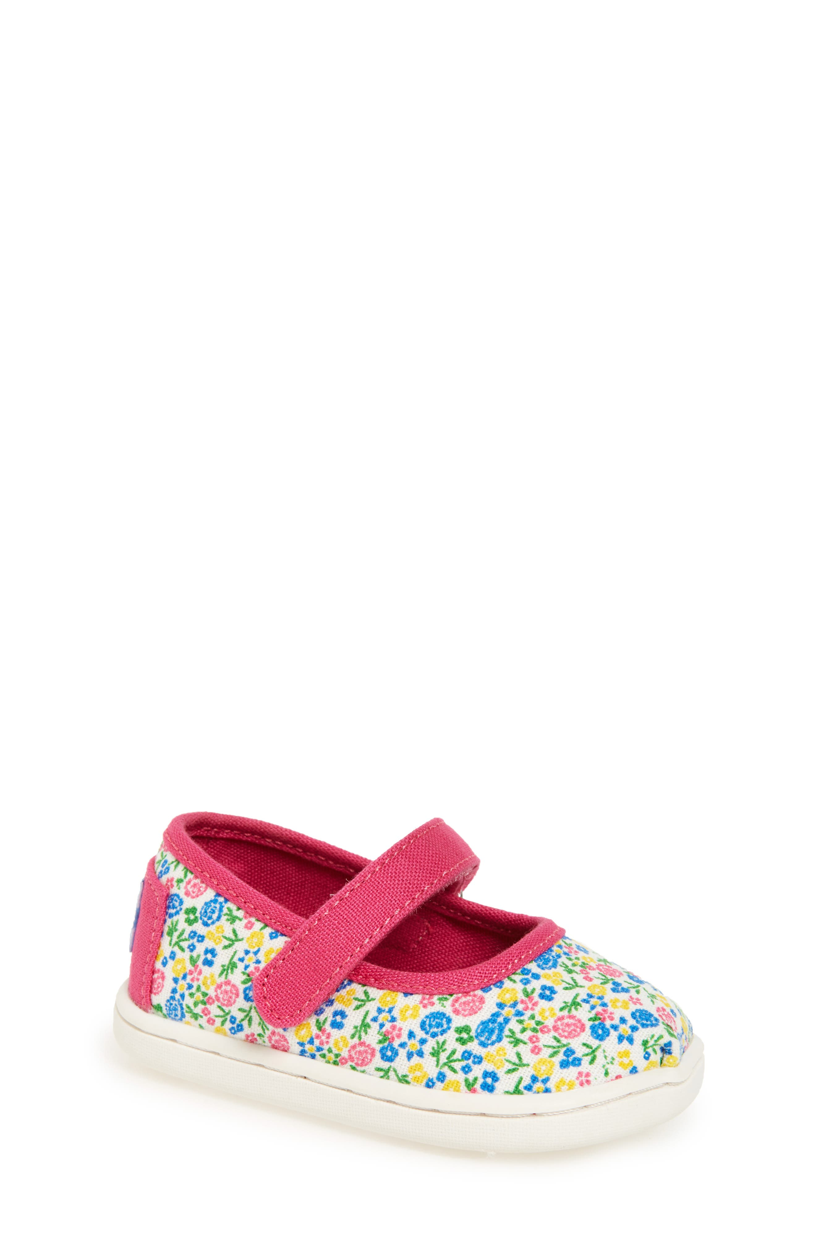 TOMS Mary Jane Flat (Baby, Walker & Toddler)