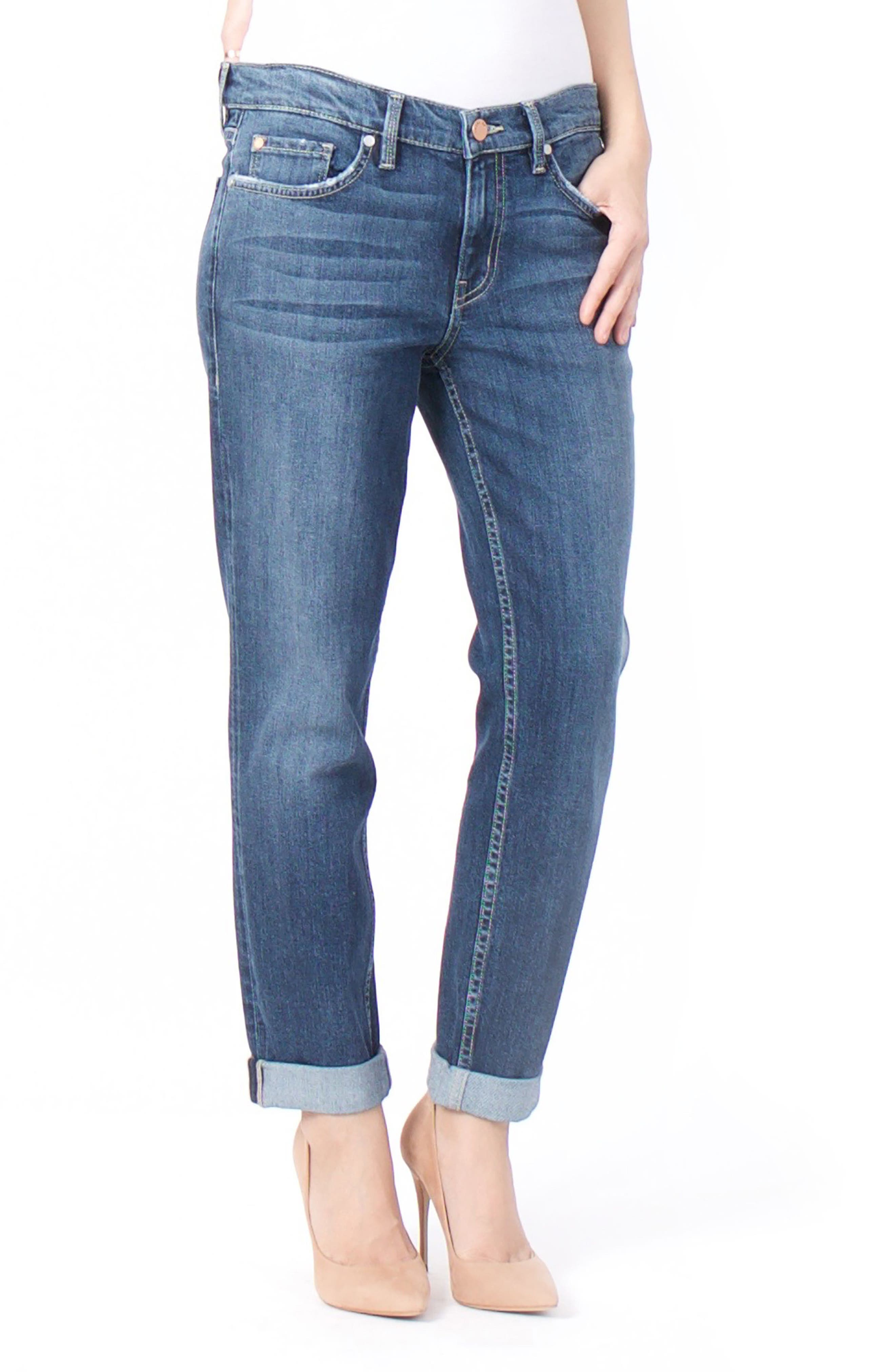 Alternate Image 1 Selected - Level 99 Sienna Stretch Ankle Jeans