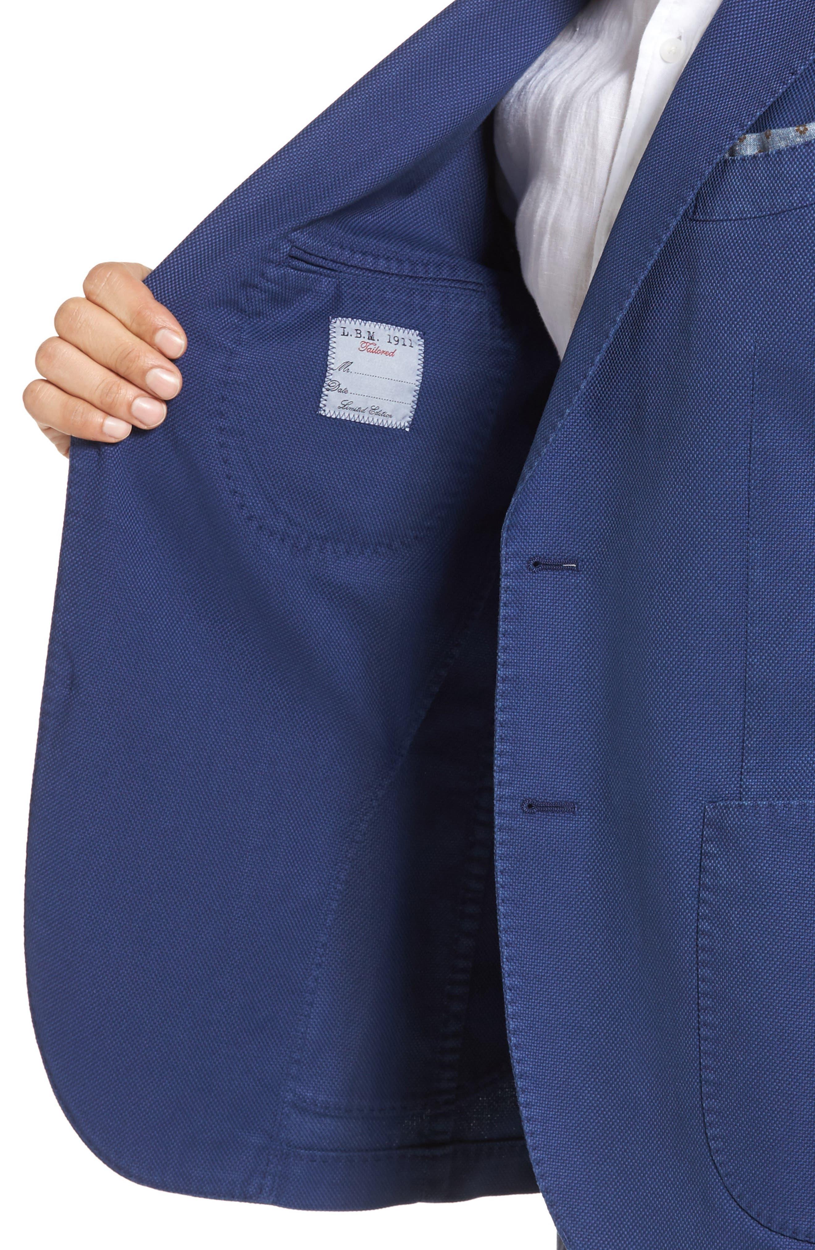 Alternate Image 4  - L.B.M. 1911 Unconstructed Classic Fit Cotton Blazer