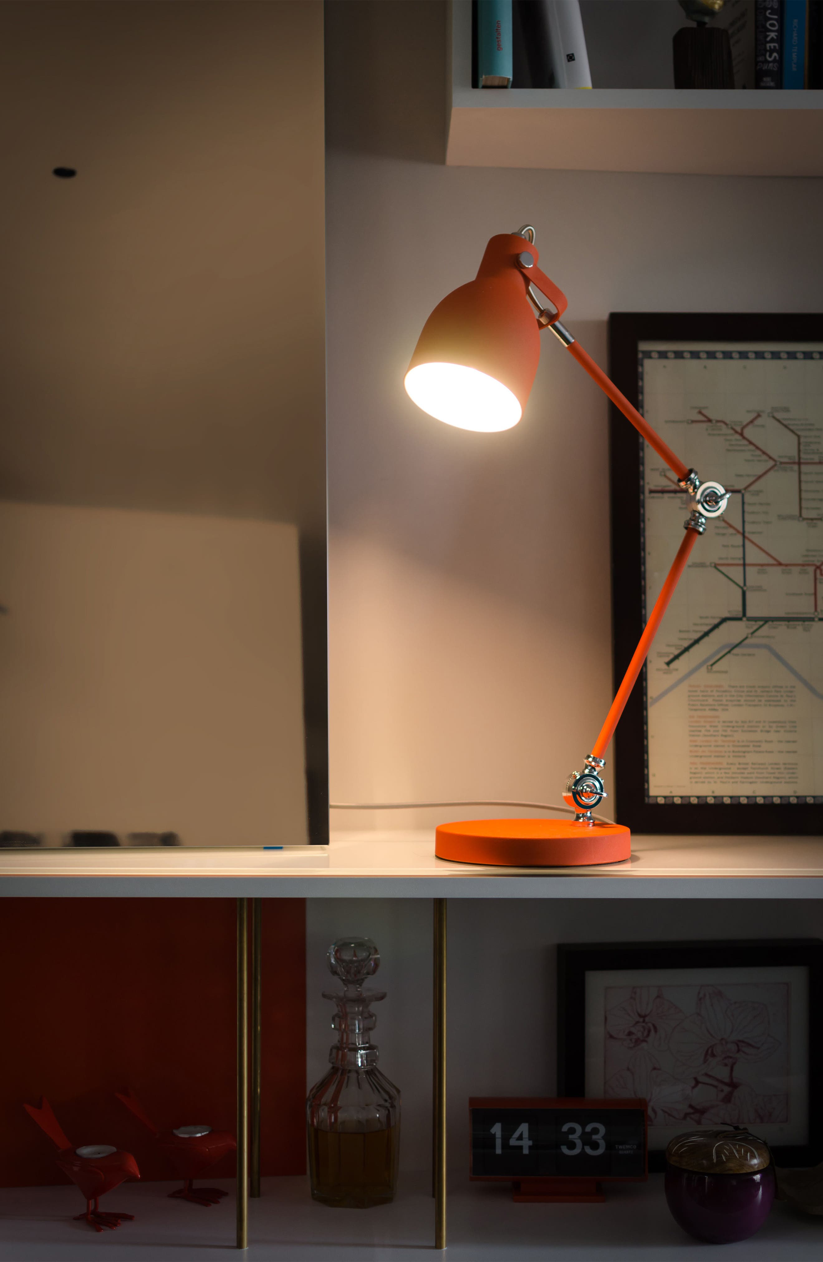 Alternate Image 4  - Wild and Wolf Task Lamp