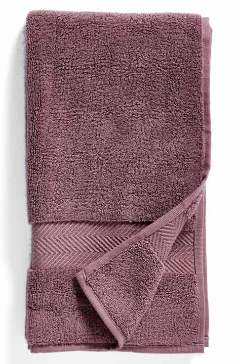 nordstrom at home hydrocotton hand towel - Red And Black Print Bath Towels