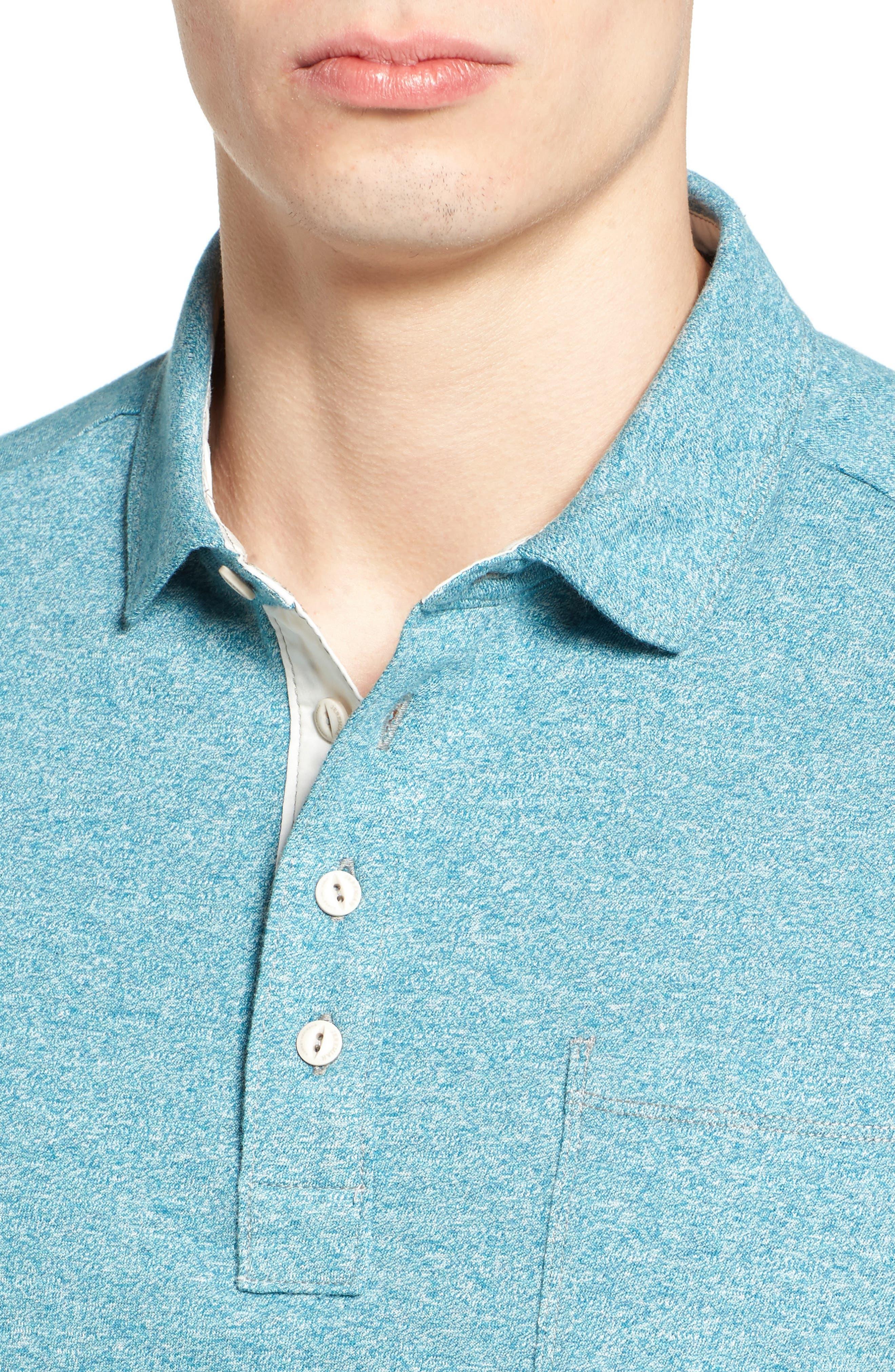 Alternate Image 4  - Jeremiah Dixon Twist Yarn Jersey Polo