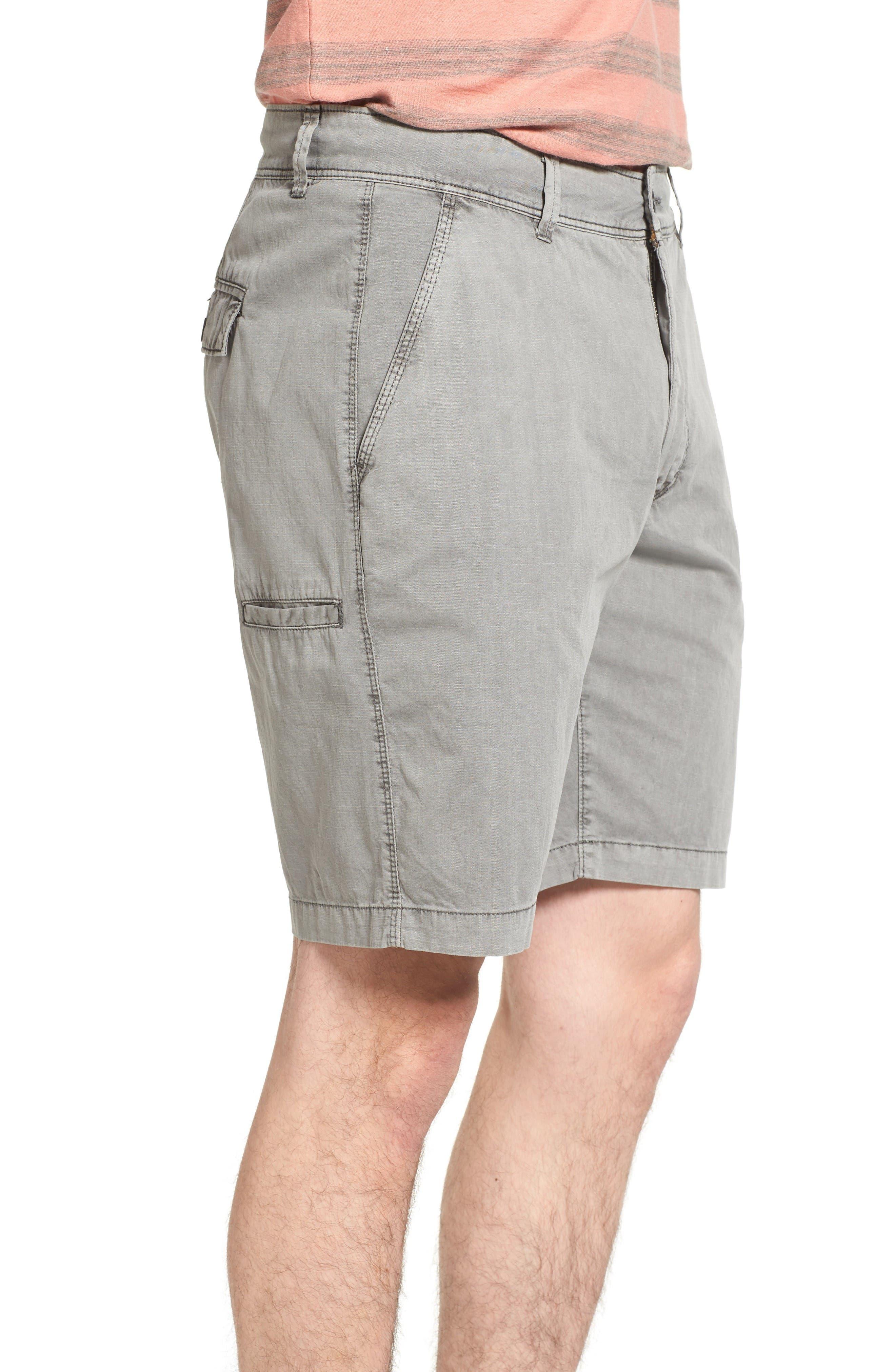 Alternate Image 3  - Jeremiah Merrill Pigment Slub Poplin Shorts