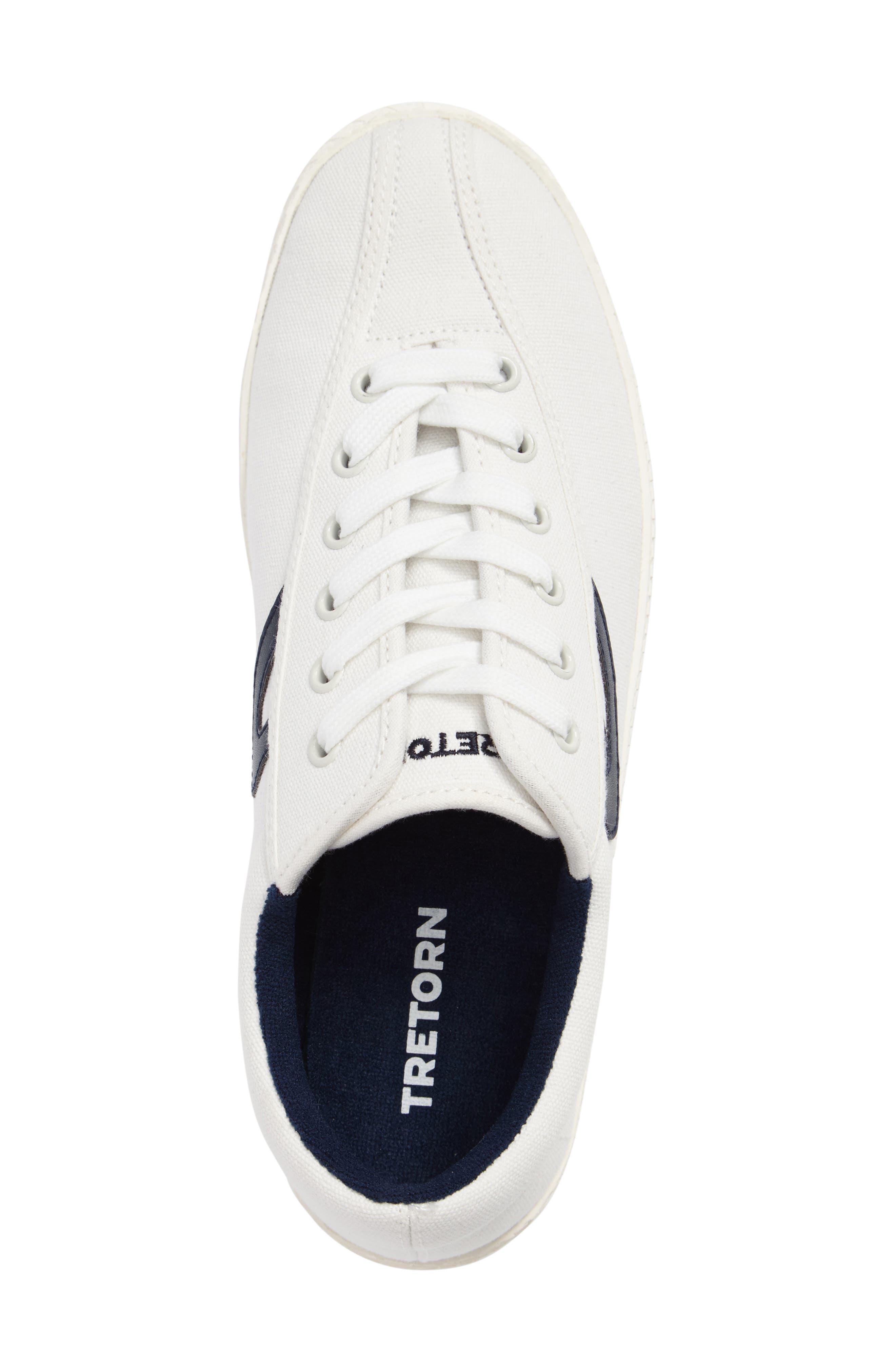 Nylite Plus Sneaker,                             Alternate thumbnail 3, color,                             White/ White/ Night Canvas