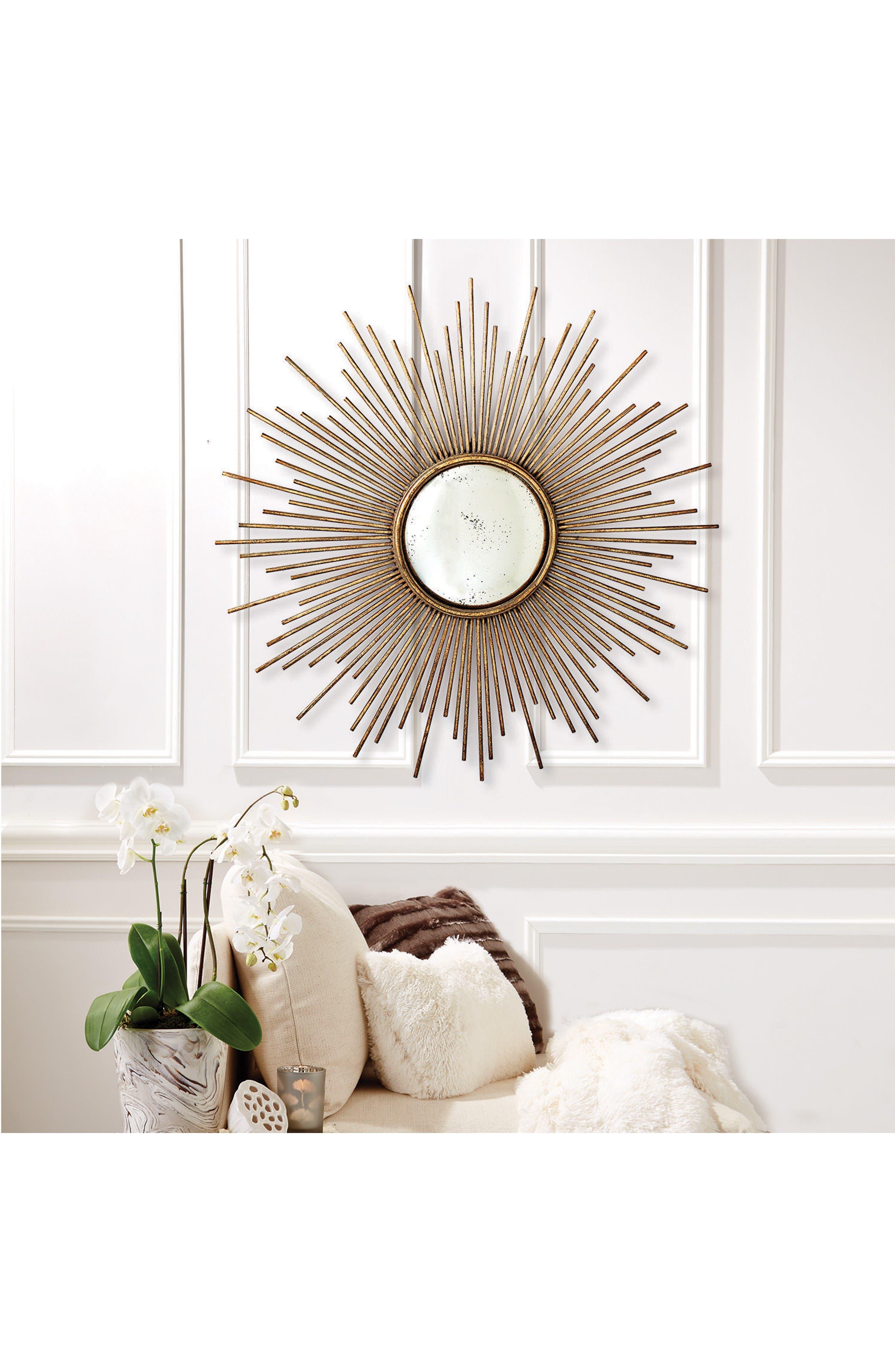Alternate Image 3  - Two's Company Sunburst Mirror