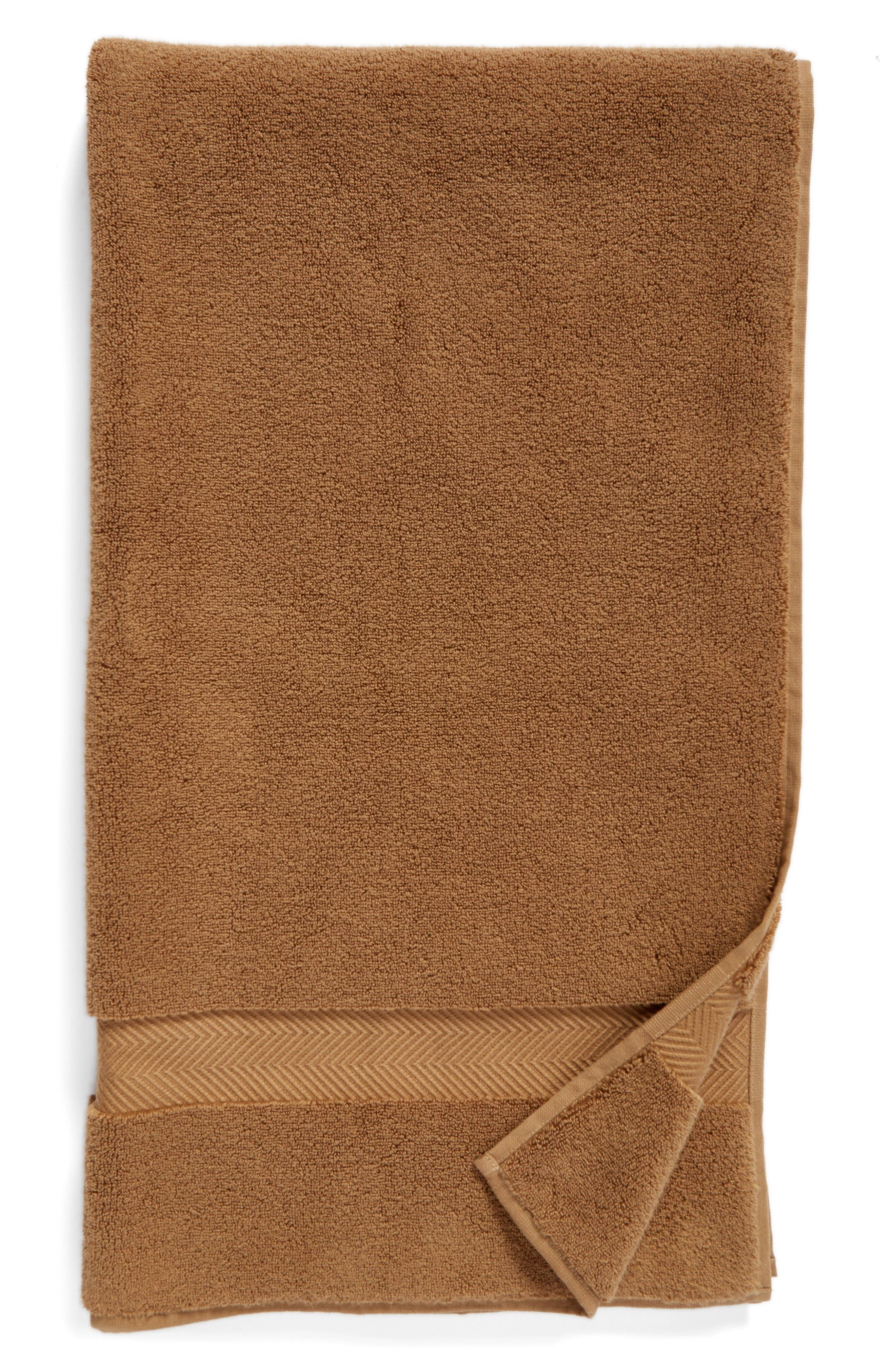 Hydrocotton Bath Towel,                         Main,                         color, Brown Otter