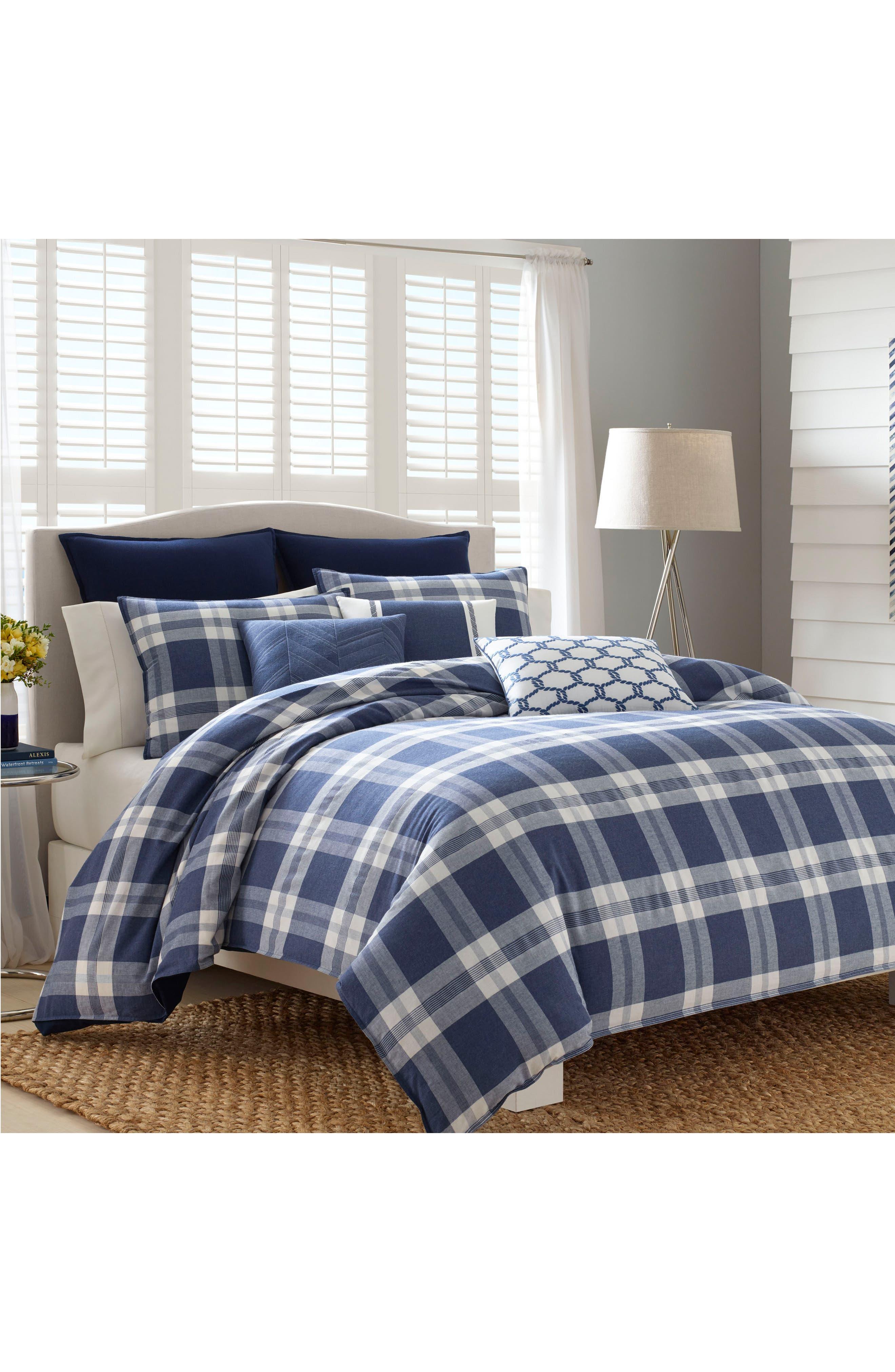 Alternate Image 2  - Nautica Cunningham Comforter & Sham Set