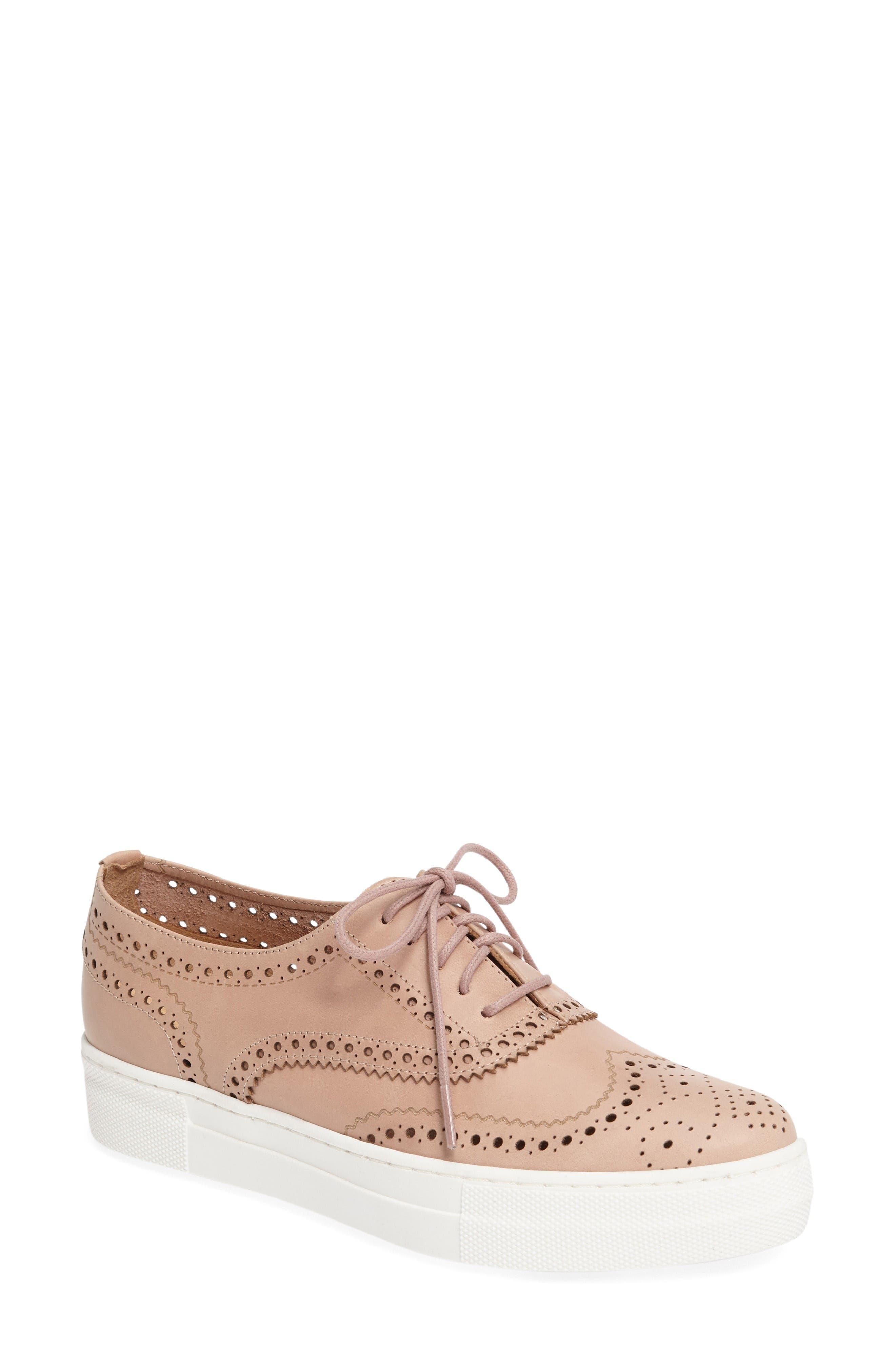 Alternate Image 1 Selected - Shellys London Kimmie Perforated Platform Sneaker (Women)