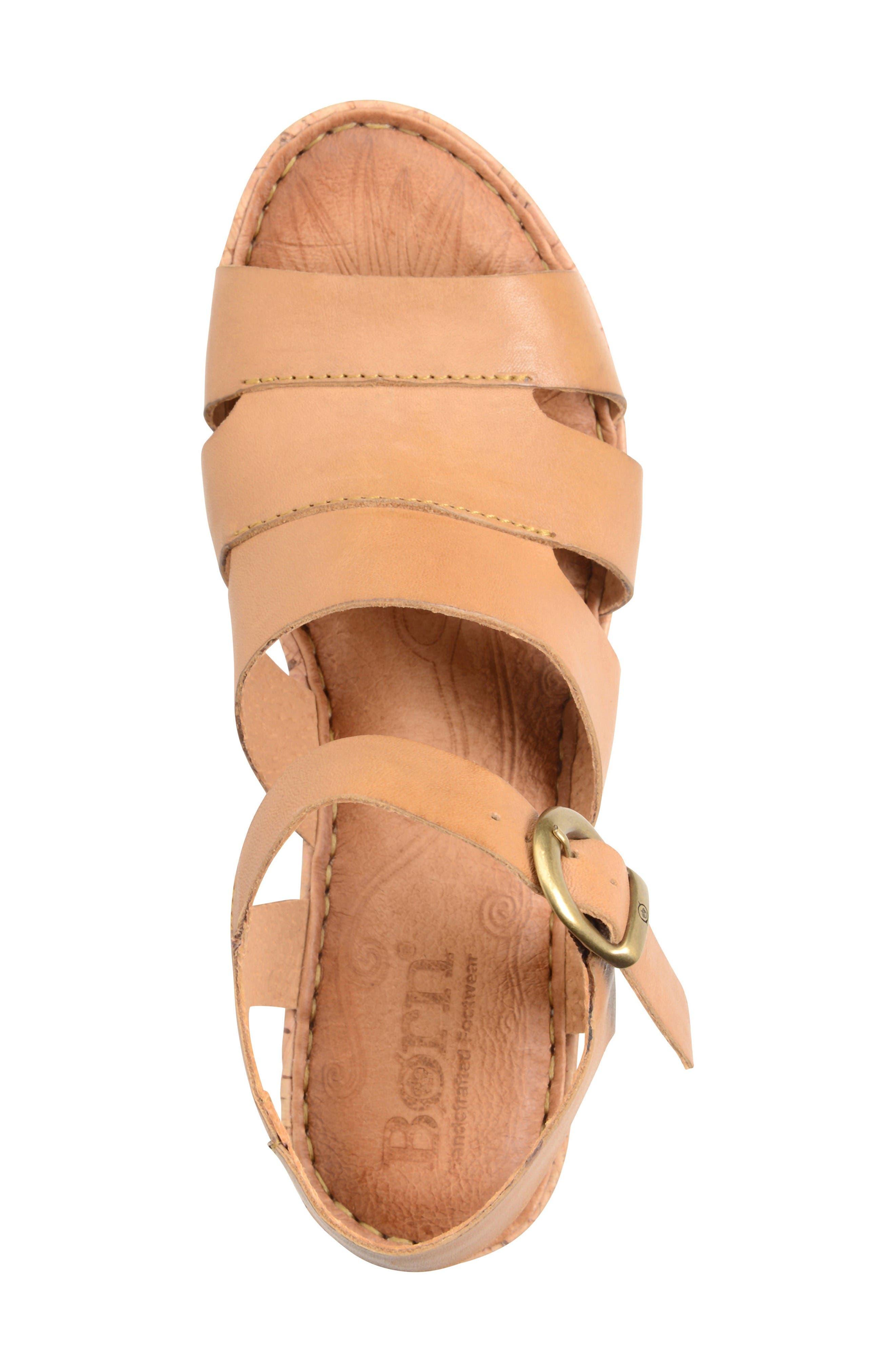 Alternate Image 3  - Børn Anori Platform Wedge Sandal (Women)