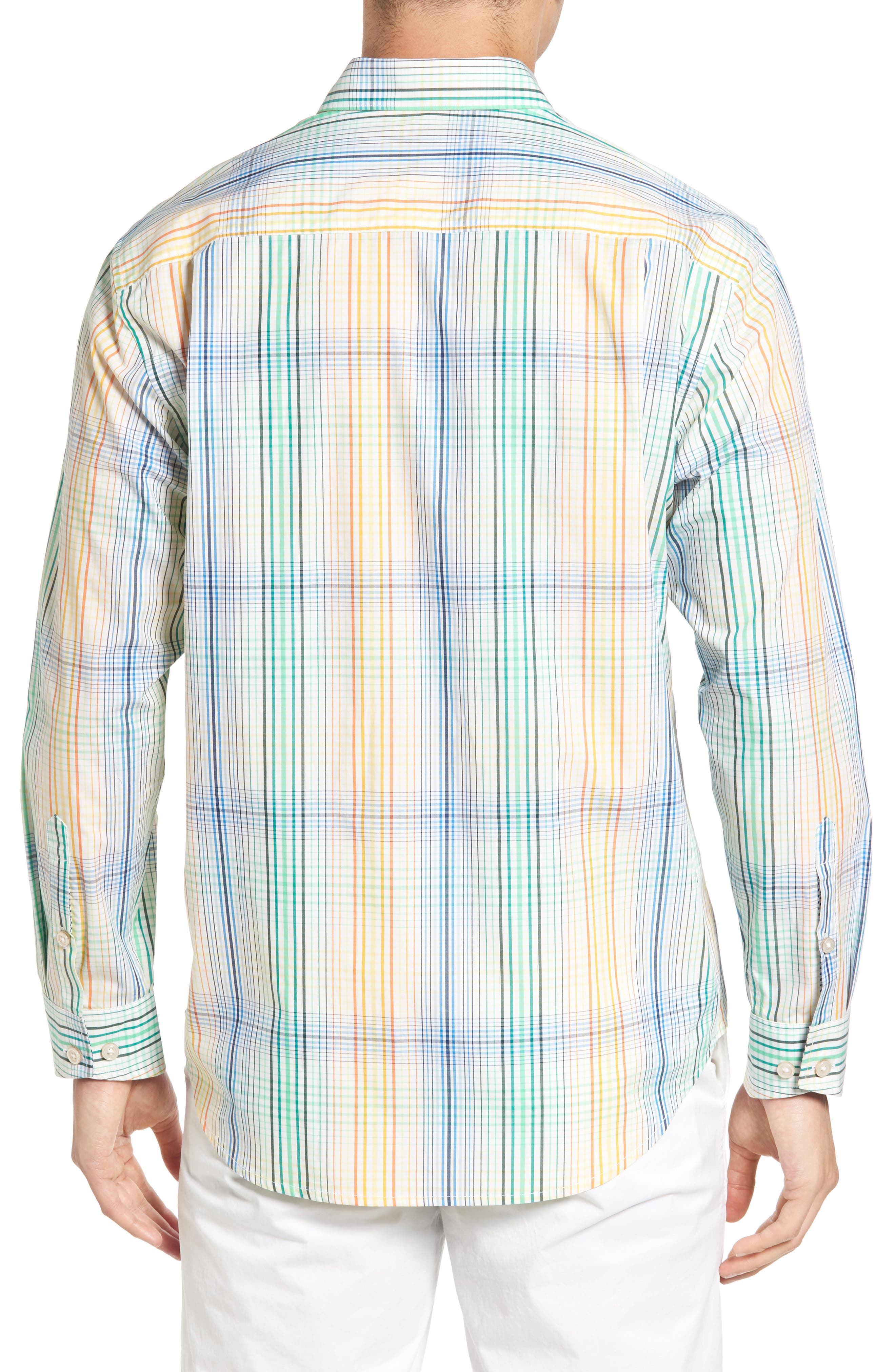 Alternate Image 2  - Tommy Bahama Metala Plaid Sport Shirt