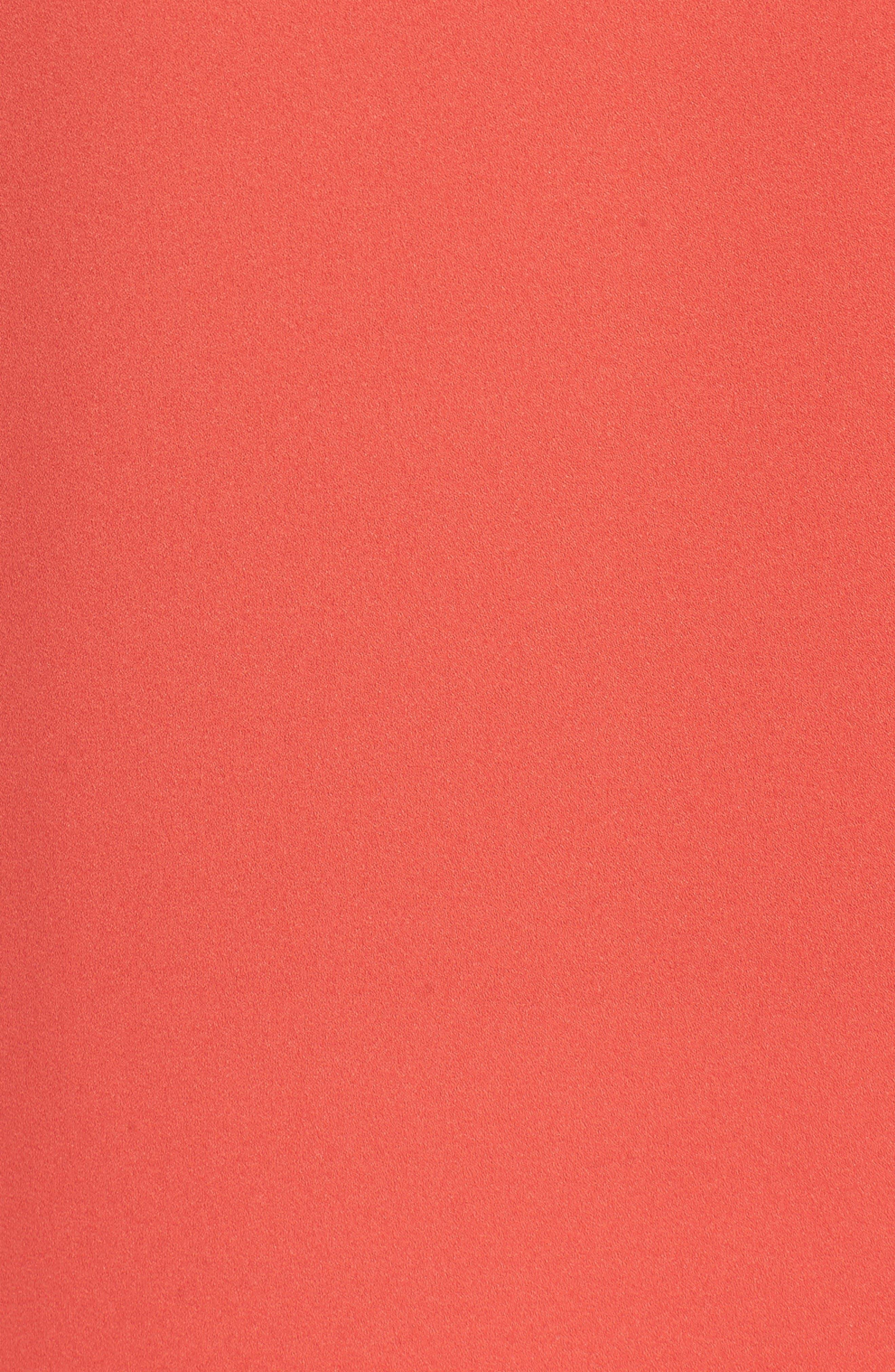 Agatha Ruffle Blouse,                             Alternate thumbnail 5, color,                             Orange