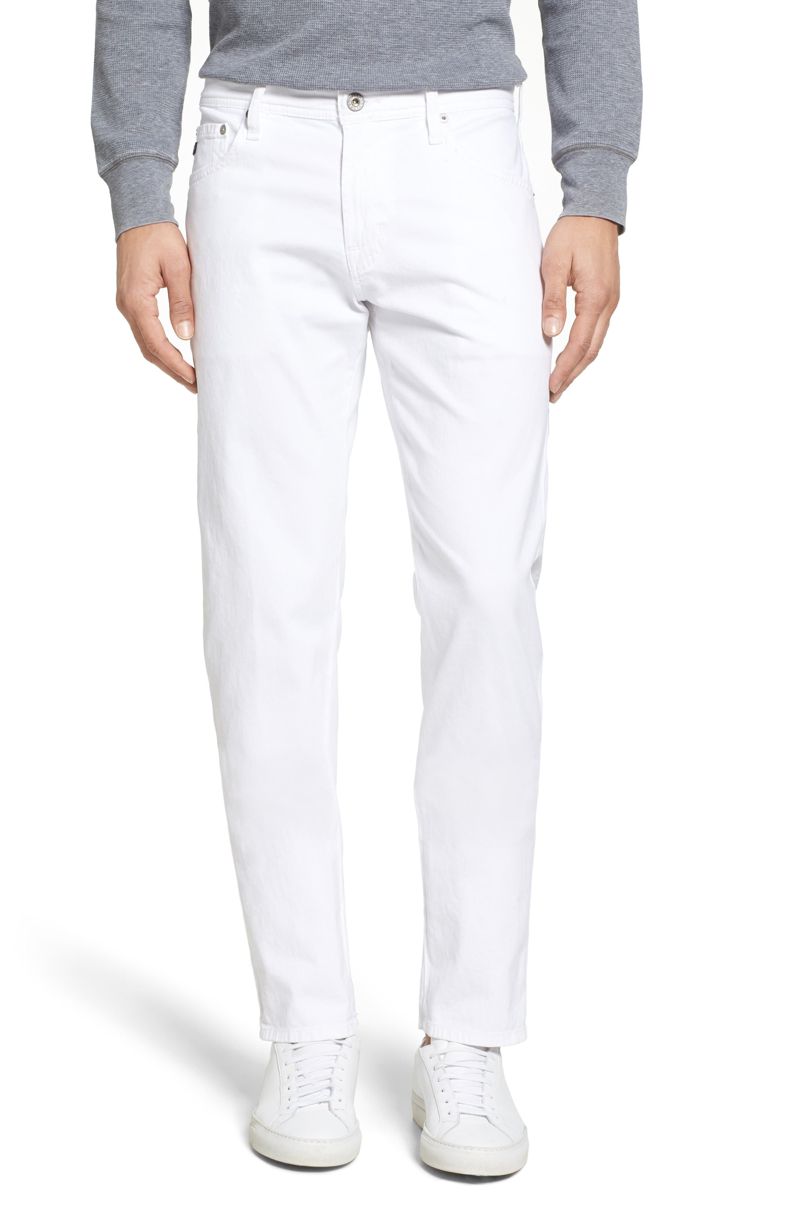 Alternate Image 1 Selected - AG Tellis SUD Modern Slim Stretch Twill Pants