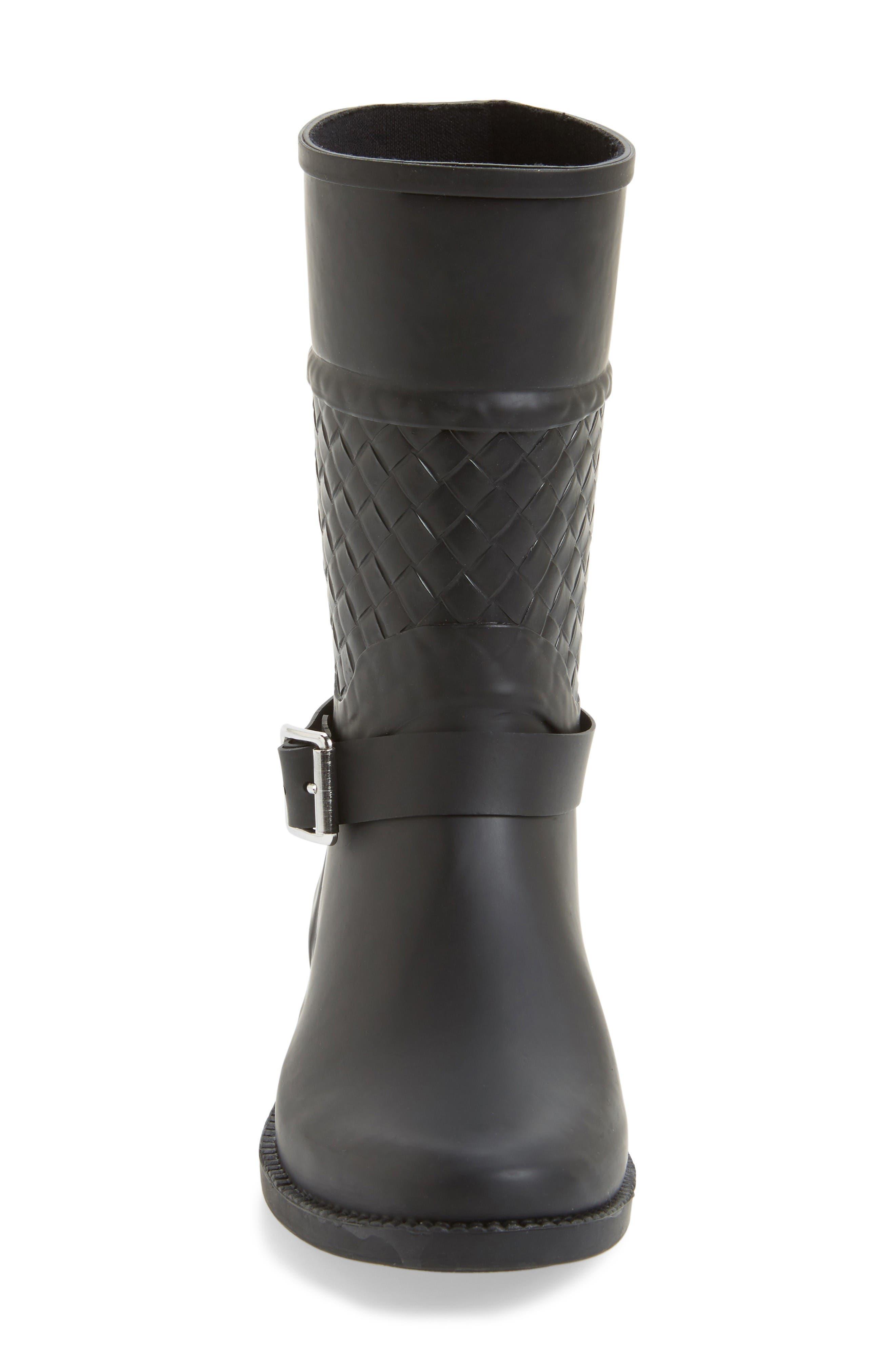 Alternate Image 3  - däv Weston Waterproof Woven Shaft Rain Boot (Women)
