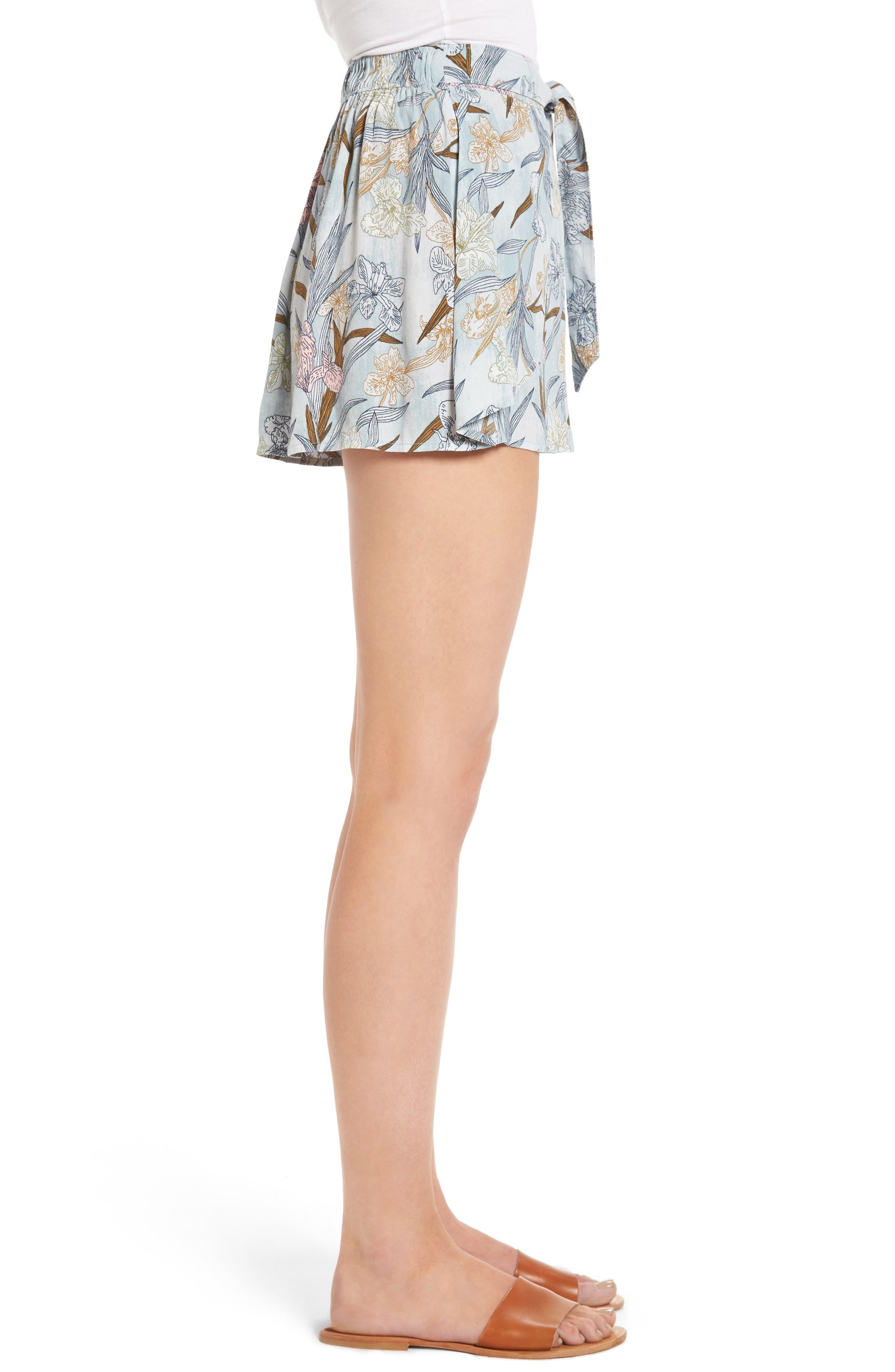 Alternate Image 4  - BP. Tie Front Shorts