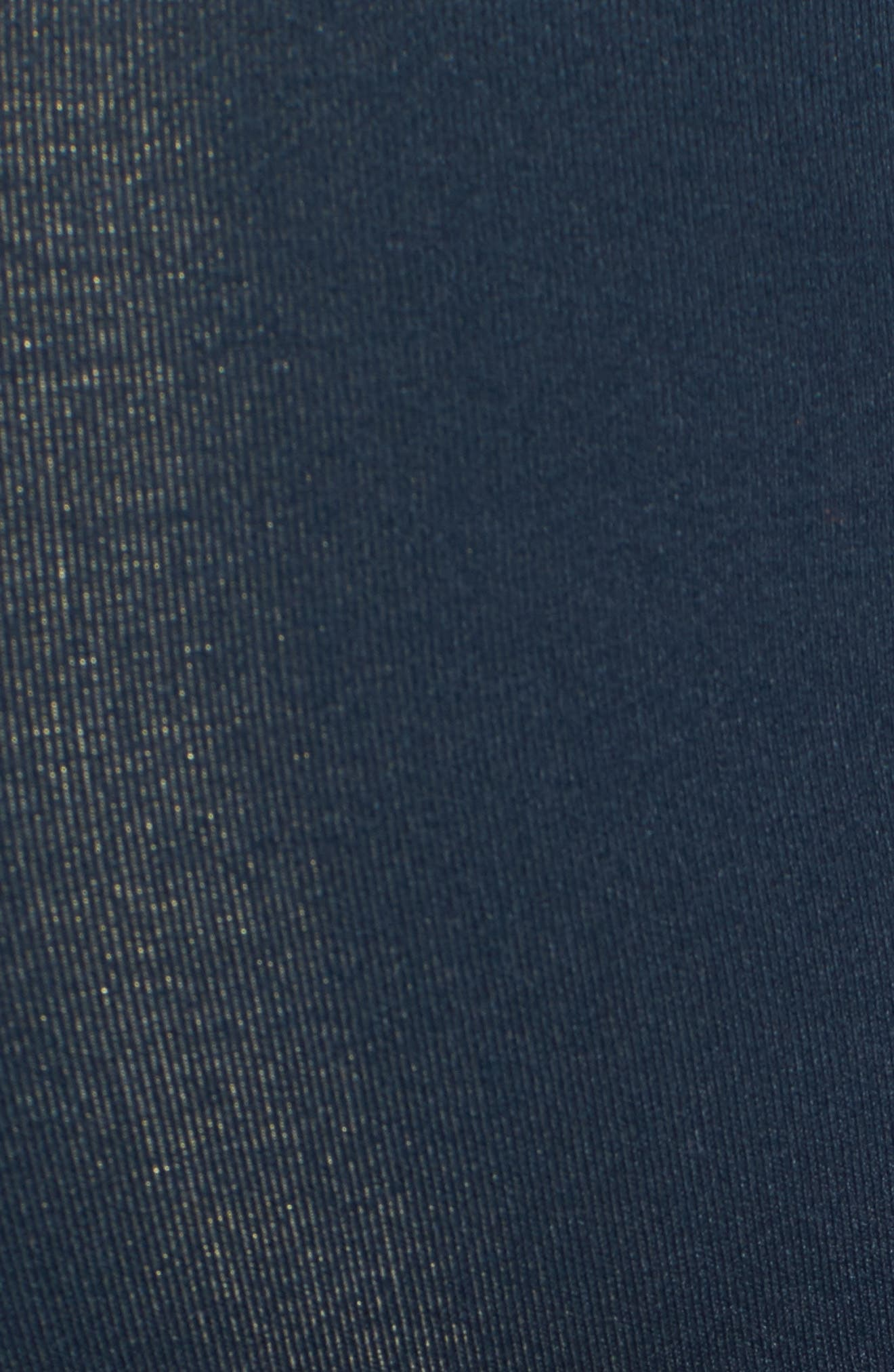 Alternate Image 5  - 1822 Denim Butter Maternity Skinny Jeans (Midnight)