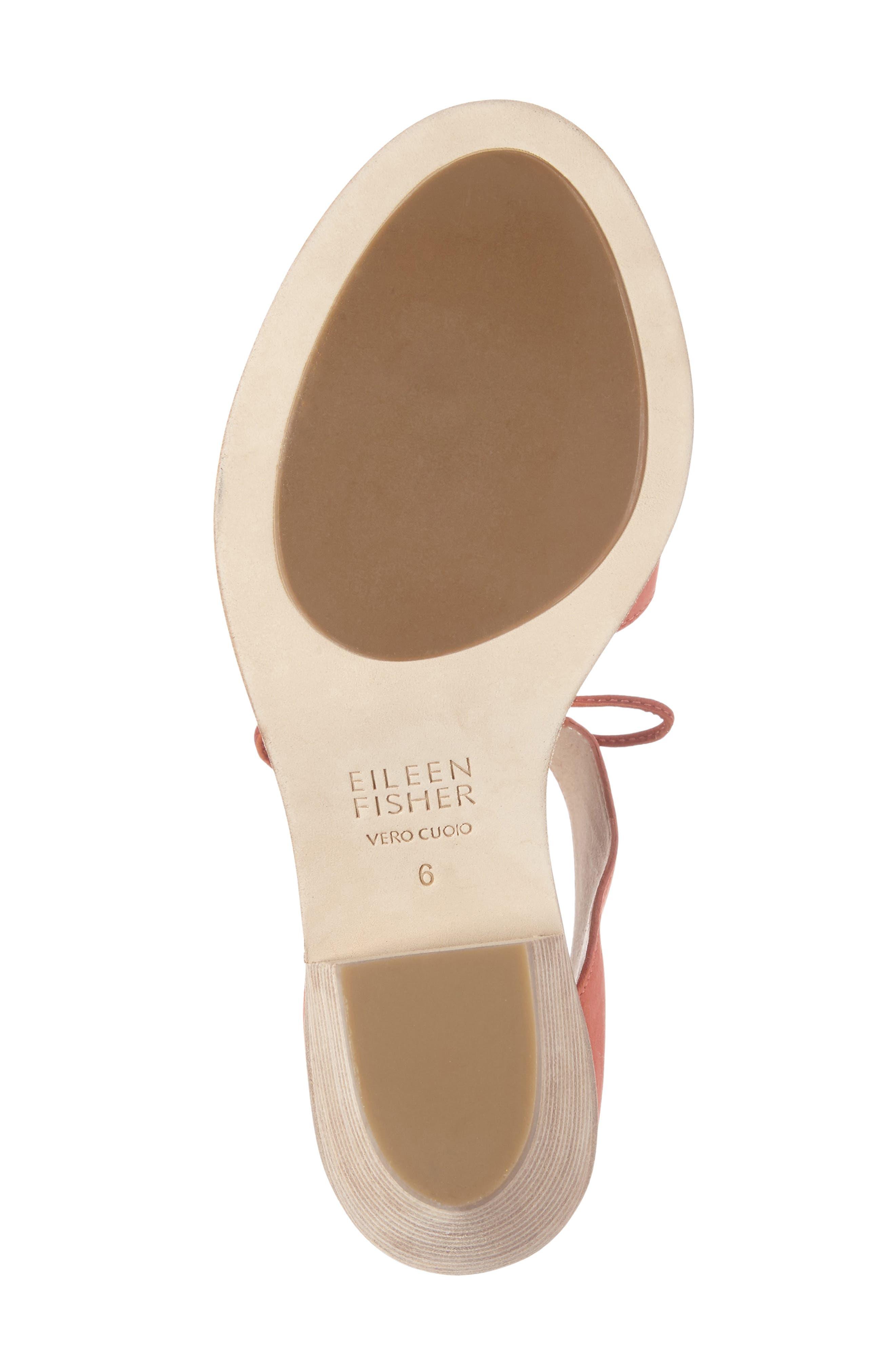 Alternate Image 4  - Eileen Fisher Ann Ankle Tie Sandal (Women)